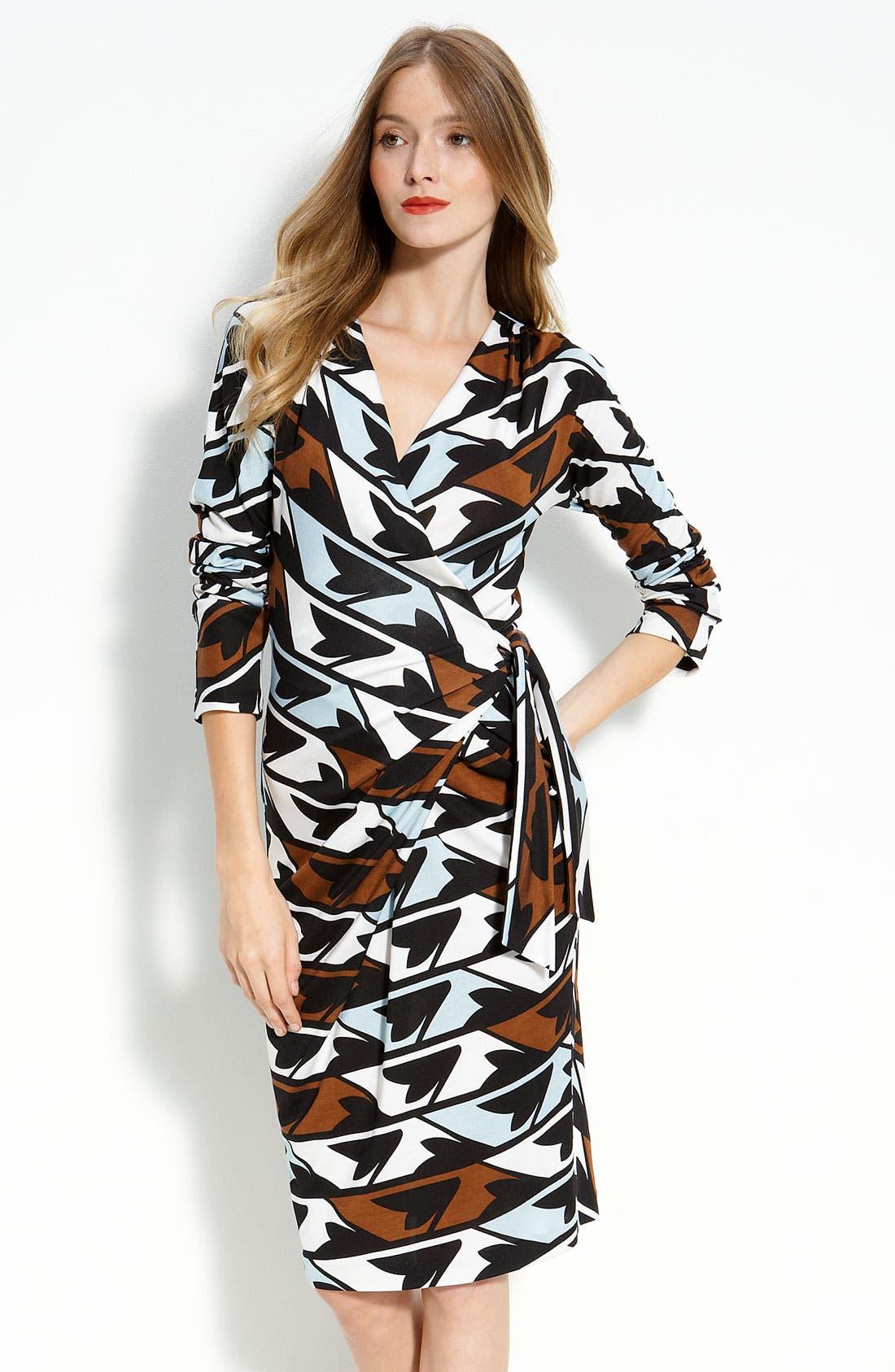 Alternate Image 1 Selected - Diane von Furstenberg 'Ember' Faux Wrap Dress