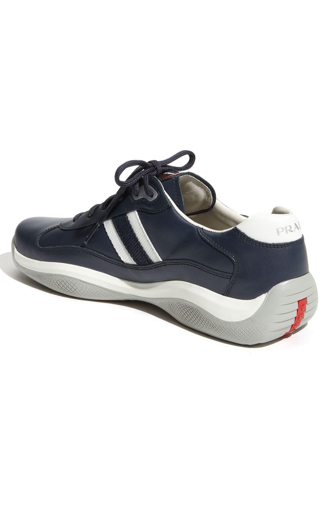 Alternate Image 2  - Prada 'Eagle' Lace-Up Sneaker (Men)
