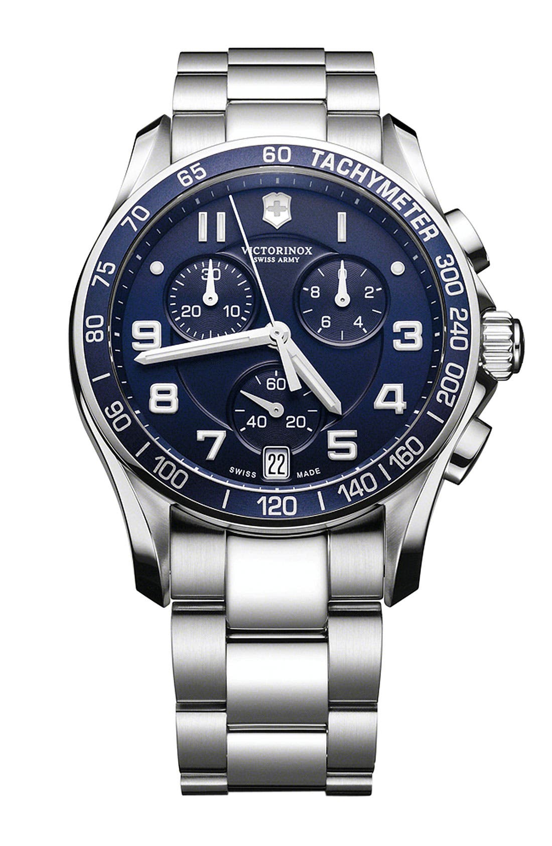 Alternate Image 1 Selected - Victorinox Swiss Army® 'Chrono Classic' Bracelet Watch, 41mm