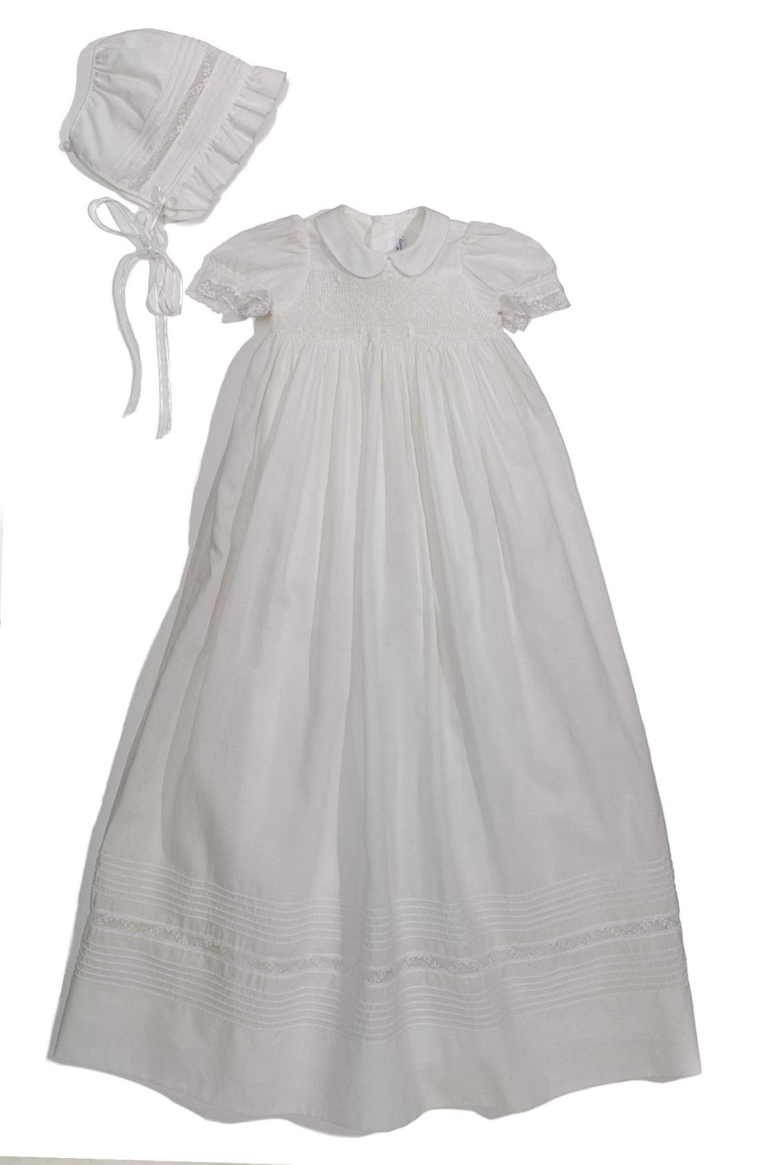 Alternate Image 1 Selected - Kissy Kissy Christening Gown (Infant)