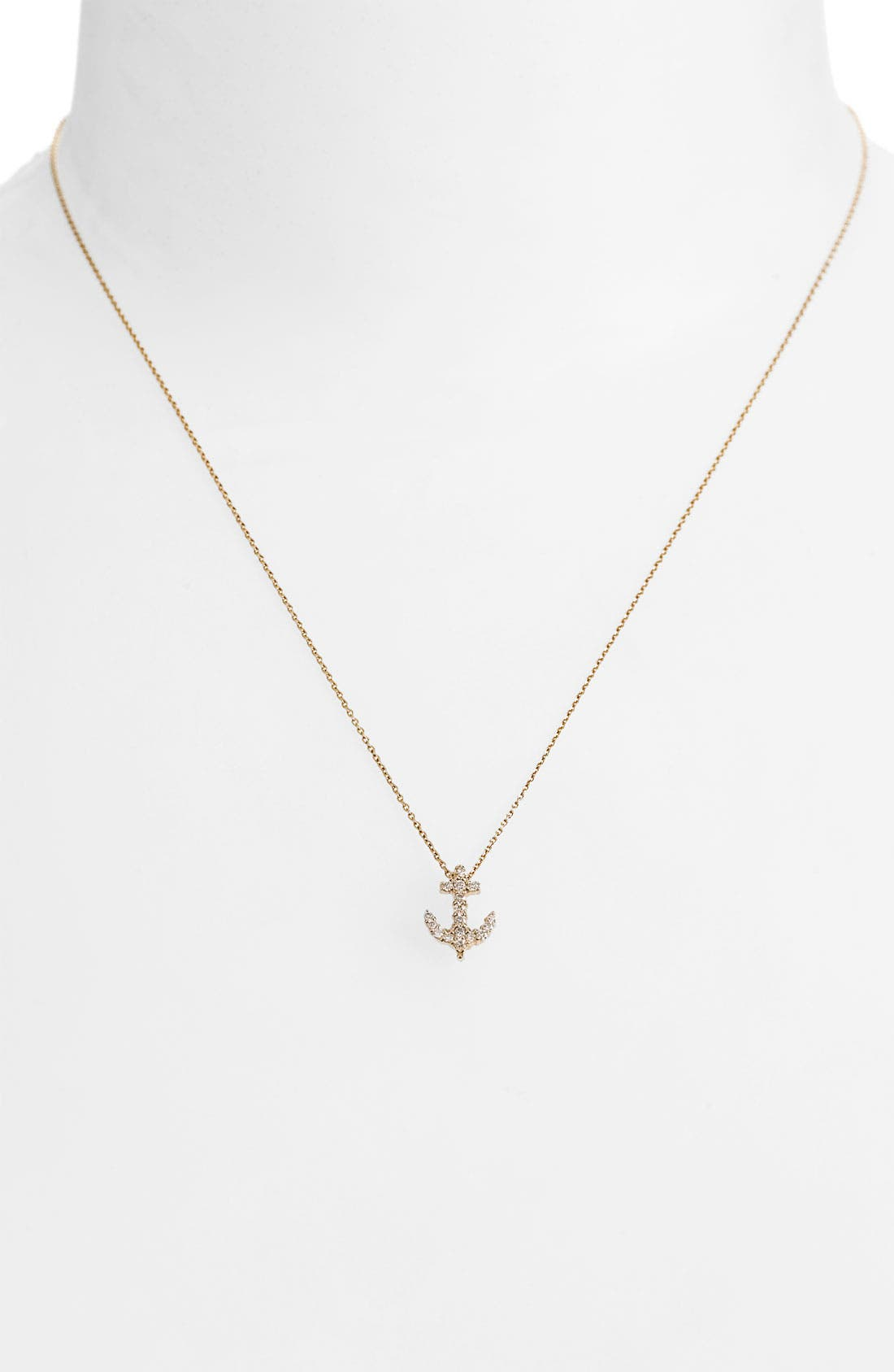 Alternate Image 1 Selected - Roberto Coin 'Tiny Treasures' Baby Anchor Necklace