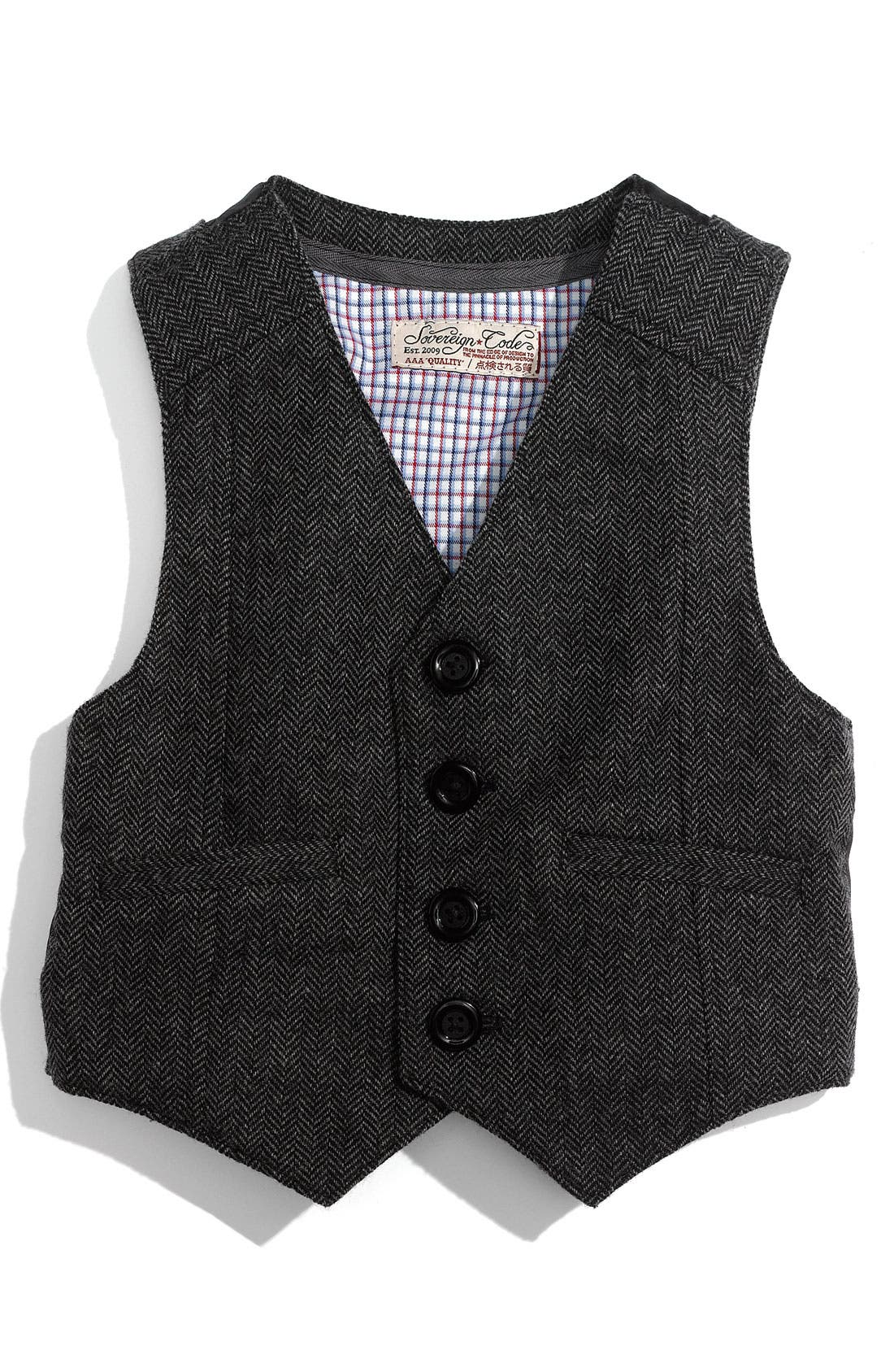 Alternate Image 1 Selected - Sovereign Code 'Lucas' Vest (Infant)