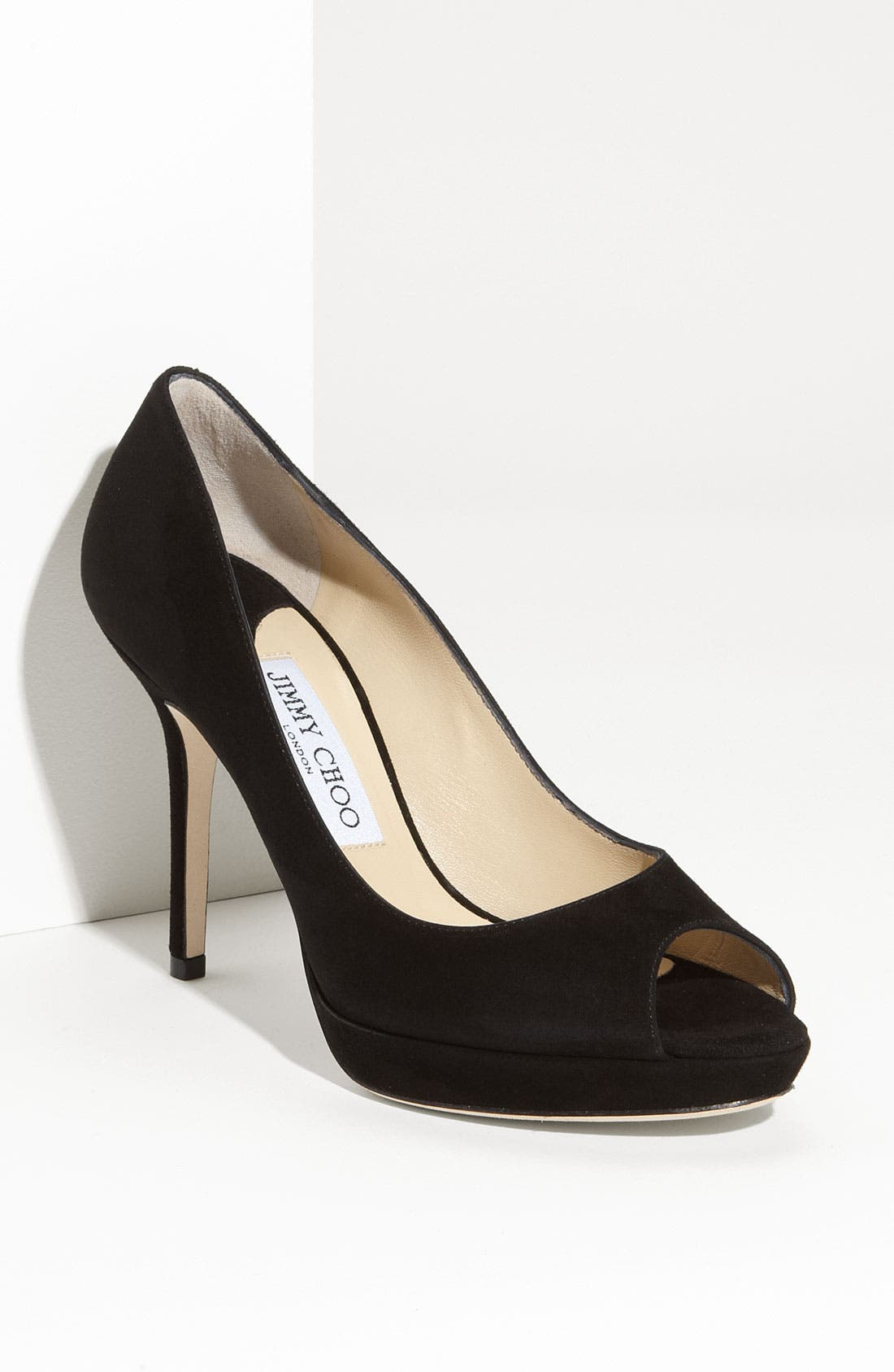 Alternate Image 1 Selected - Jimmy Choo 'Luna' Peep Toe Pump