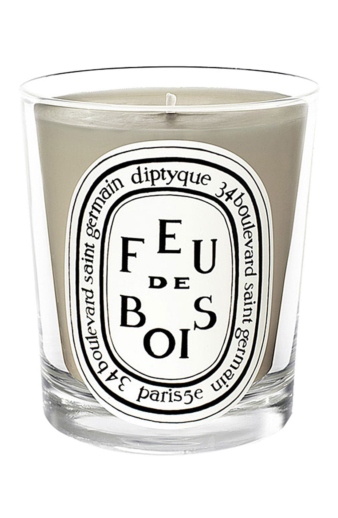 Feu de Bois/Wood Fire Scented Candle,                         Main,                         color,