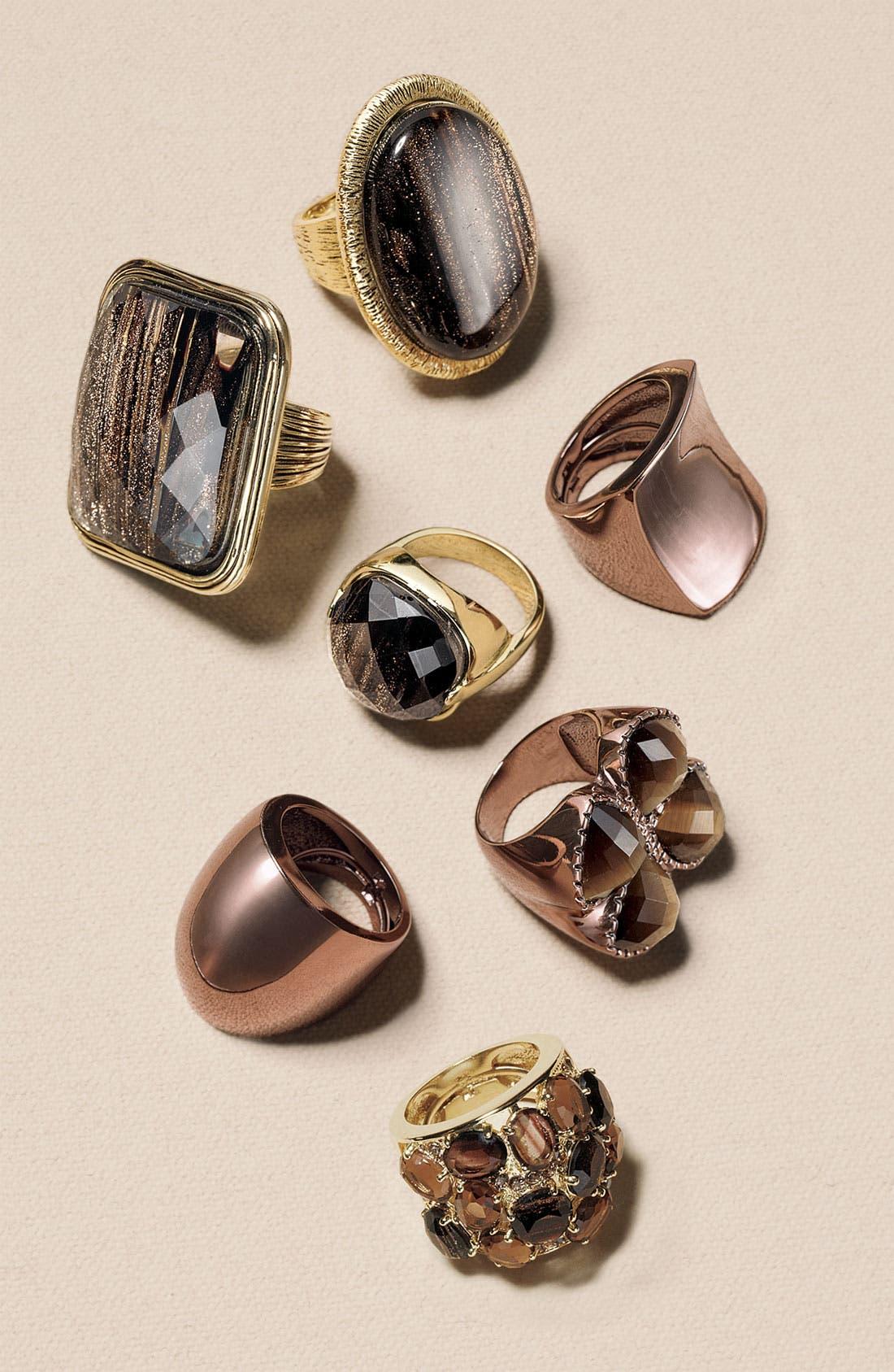 Alternate Image 3  - Ariella Collection Multi Stone Encrusted Ring