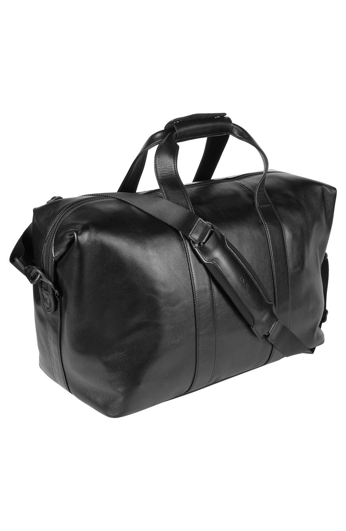 Main Image - Tumi 'Small Alpha' Soft Leather Travel Satchel