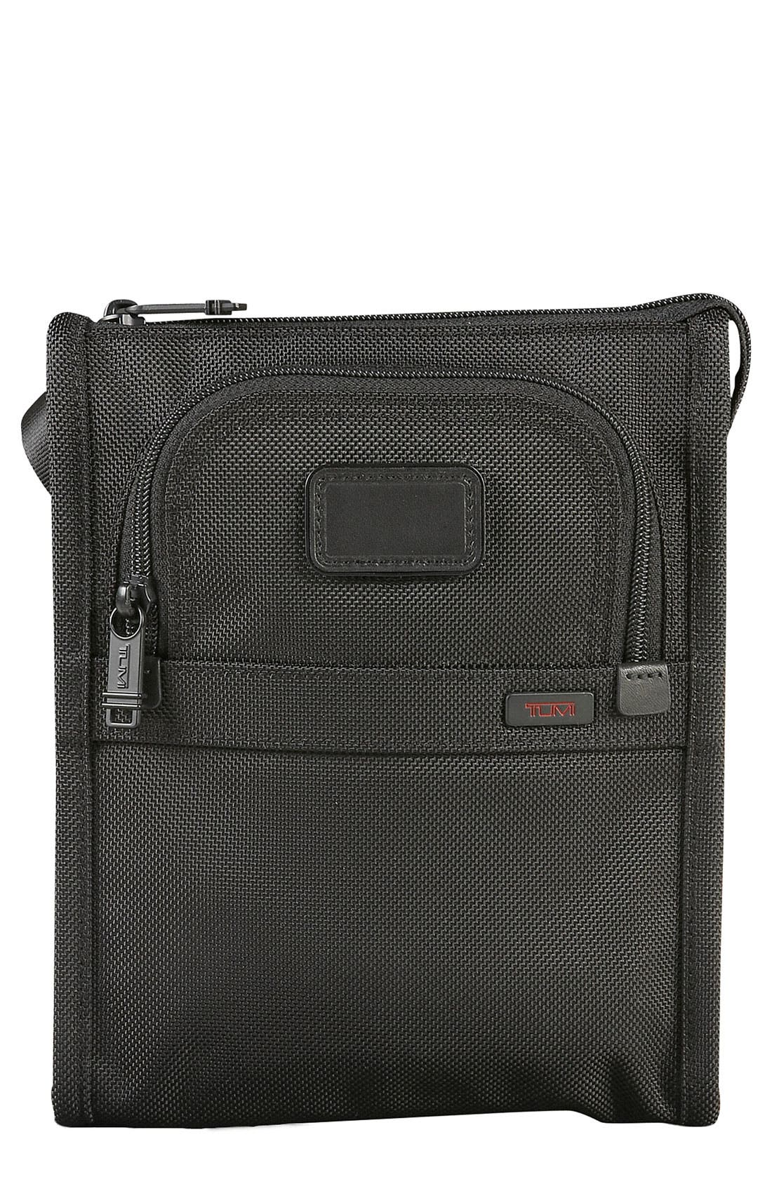 Main Image - Tumi 'Small Alpha' Crossbody Pocket Bag