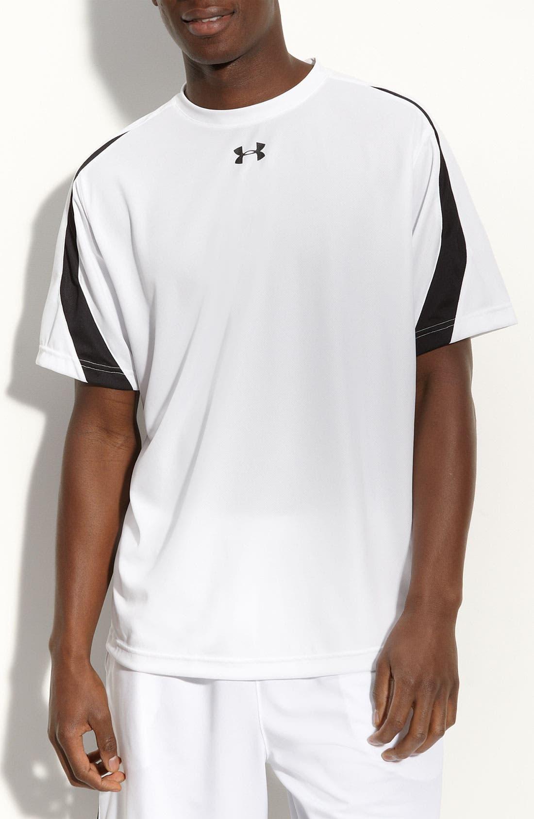 Alternate Image 1 Selected - Under Armour 'Zone III' HeatGear® T-Shirt