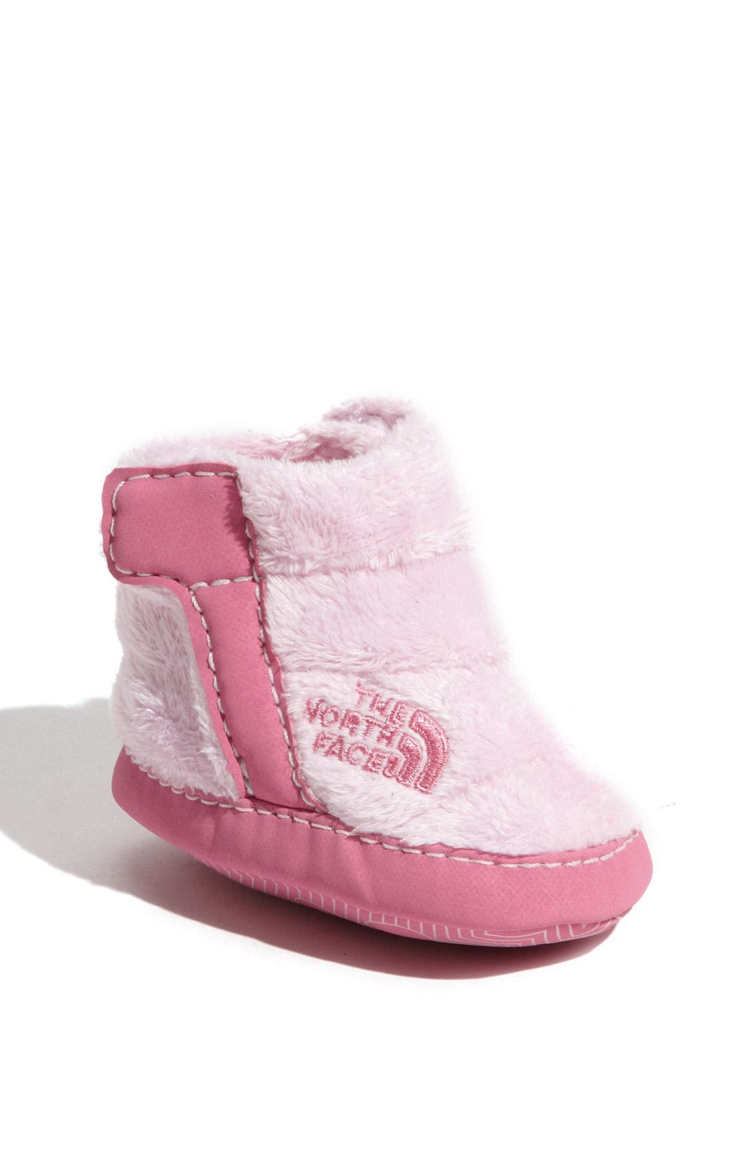 Alternate Image 1 Selected - The North Face Fleece Bootie (Baby)