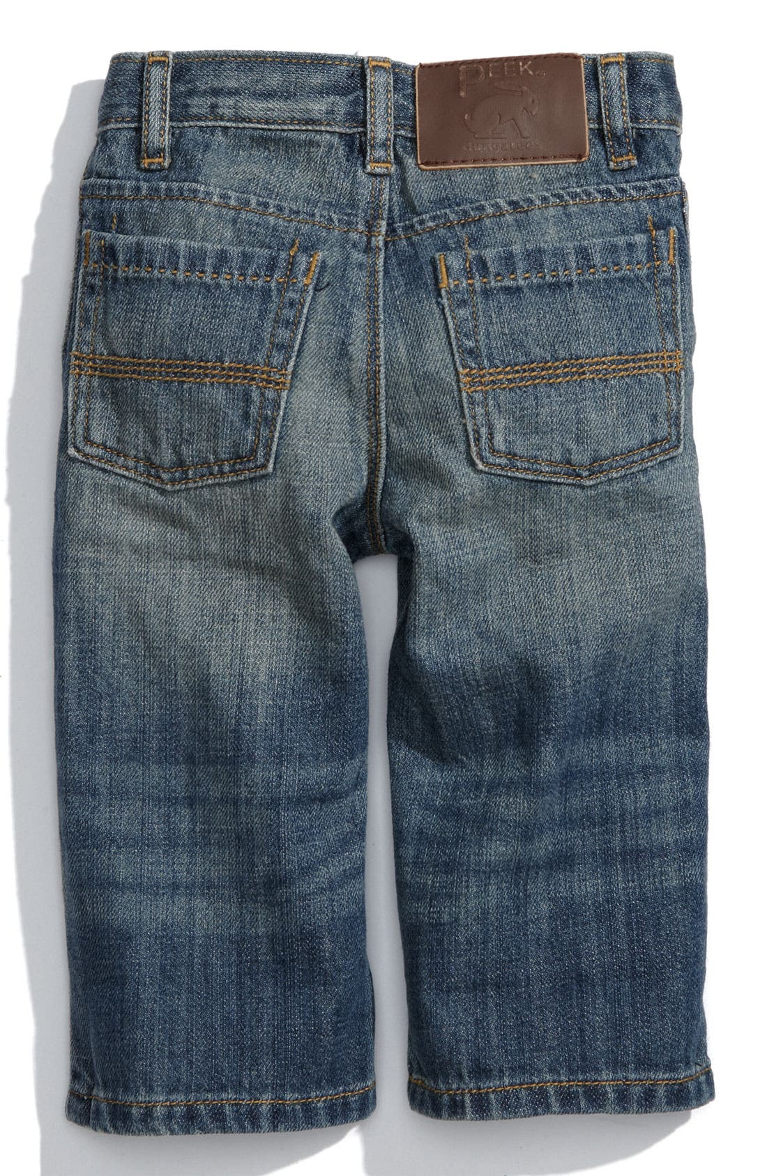 Alternate Image 1 Selected - Peek 'Big Peanut' Jeans (Infant)