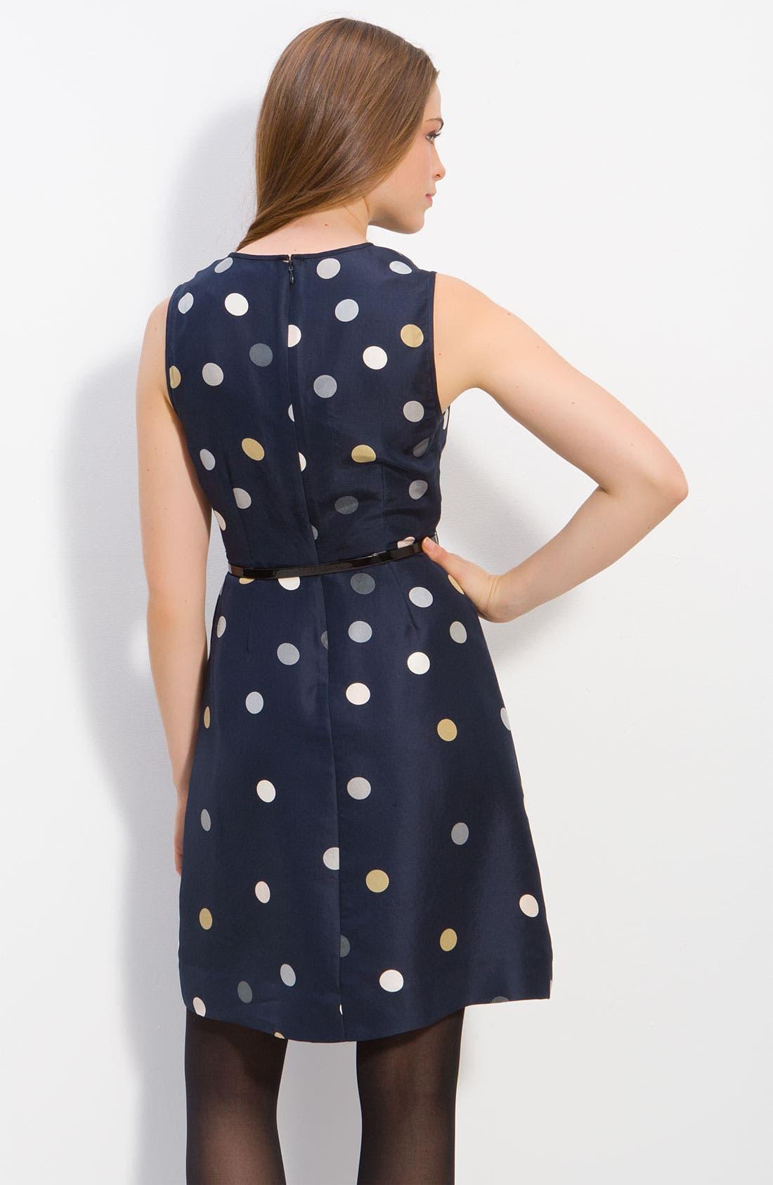 Alternate Image 2  - kate spade new york 'bailey' polka dot ruffle dress