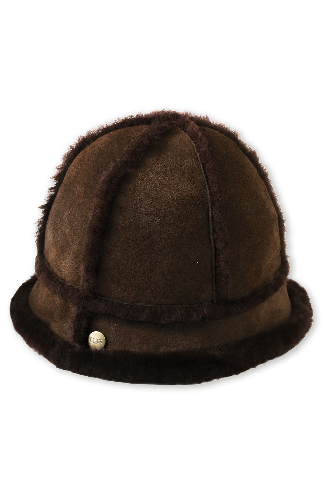 Alternate Image 1 Selected - UGG® Australia Shearling Bucket Hat