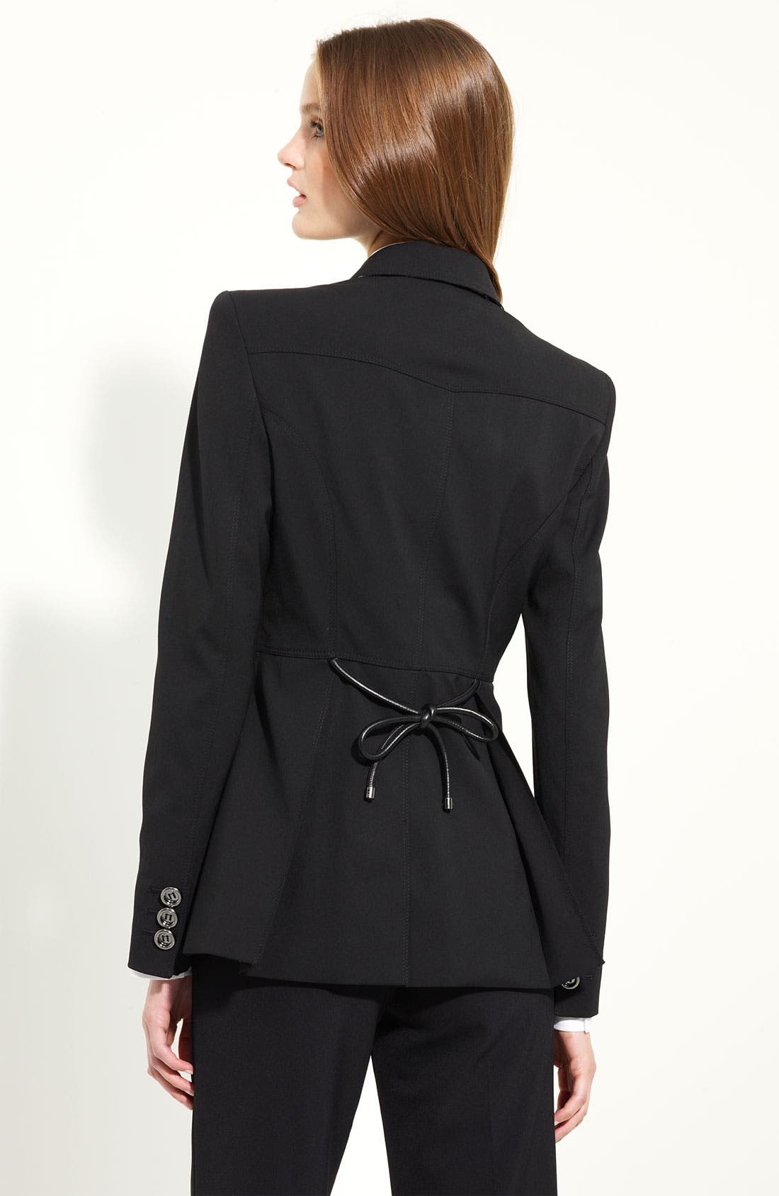 Alternate Image 2  - Burberry London Tie Back Jacket
