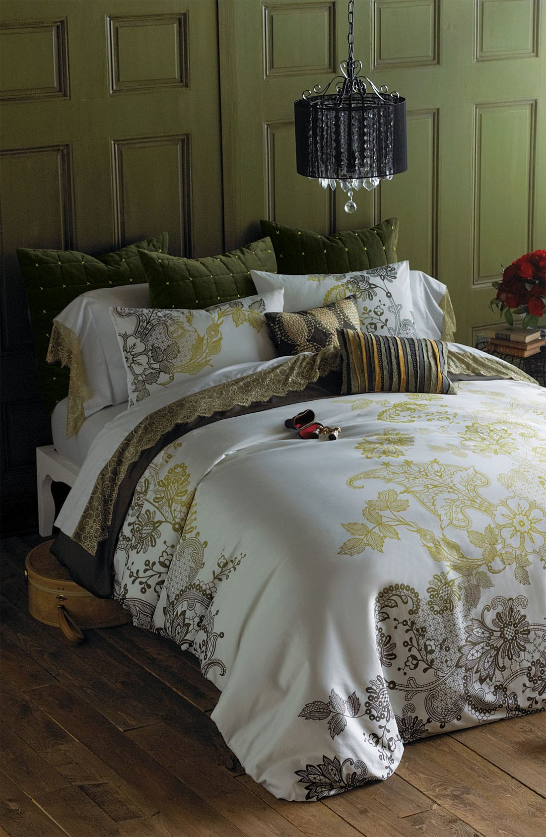Alternate Image 2  - Blissliving Home 'Evita' 300 Thread Count Duvet Set (Online Only)