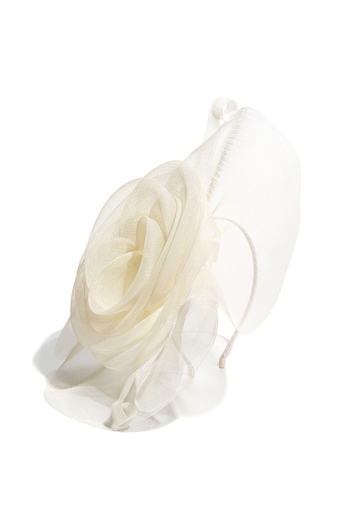 Alternate Image 2  - Tasha 'Flower Fascinator' Headband