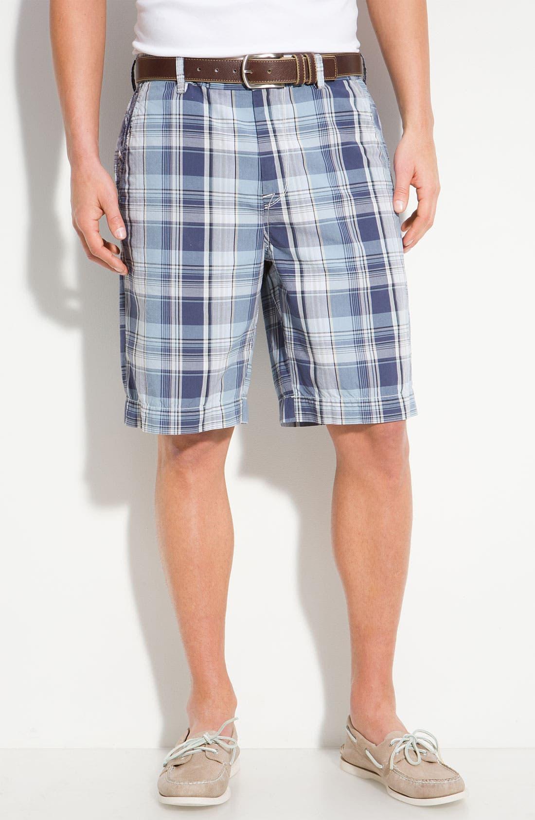 Main Image - Saltaire 'Boca Checka' Bermuda Shorts