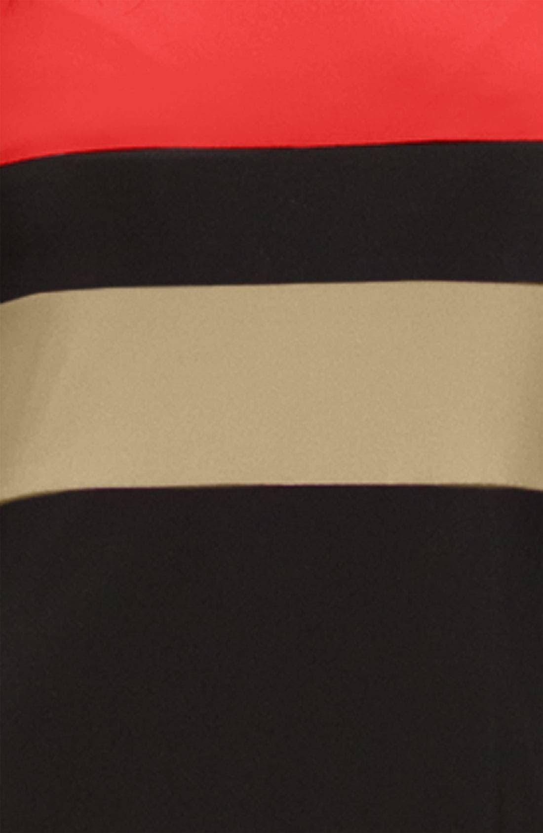 Alternate Image 2  - Donna Morgan Colorblock Midi Dress