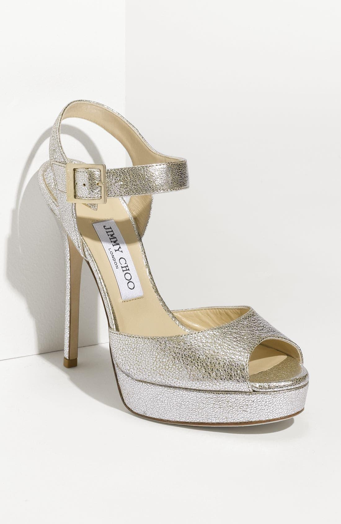 Main Image - Jimmy Choo 'Linda' Sandal (Exclusive Color)