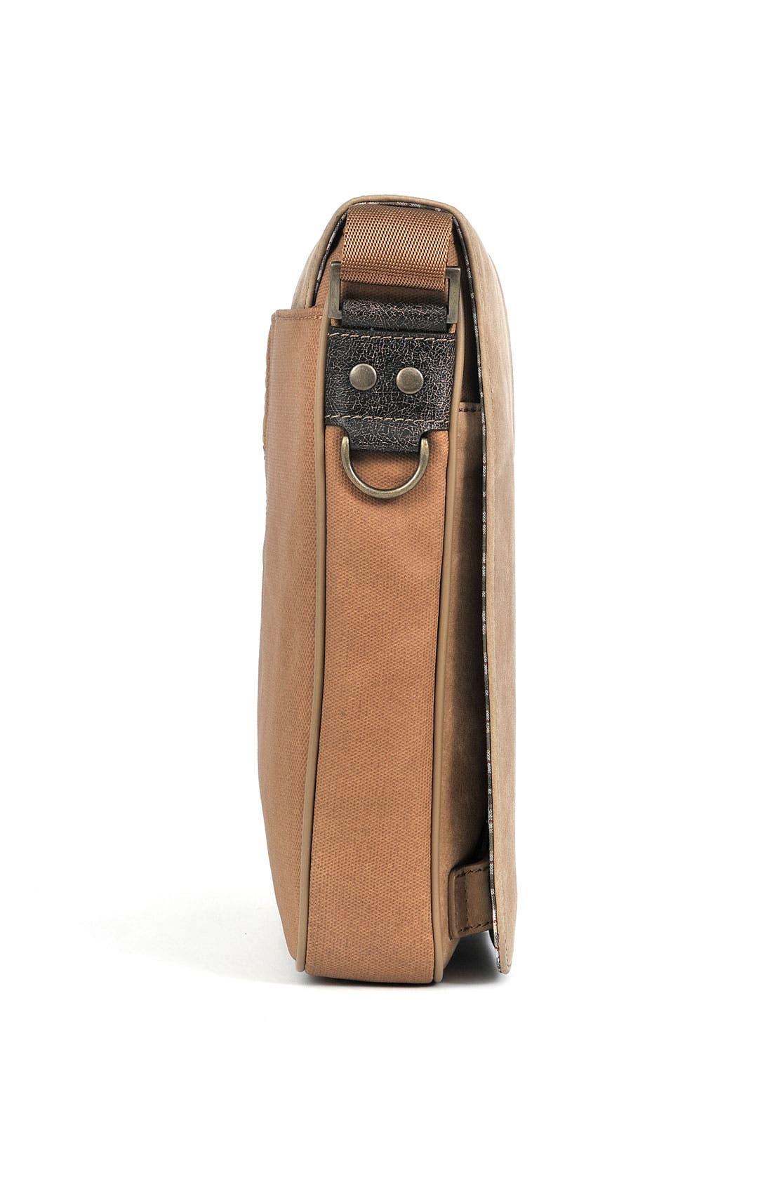Alternate Image 5  - Boconi 'Leon Mailbag' Calfskin Leather Crossbody Bag
