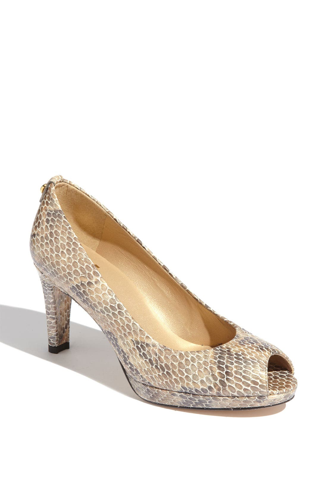 Alternate Image 1 Selected - Stuart Weitzman 'Logoplainfield' Pump