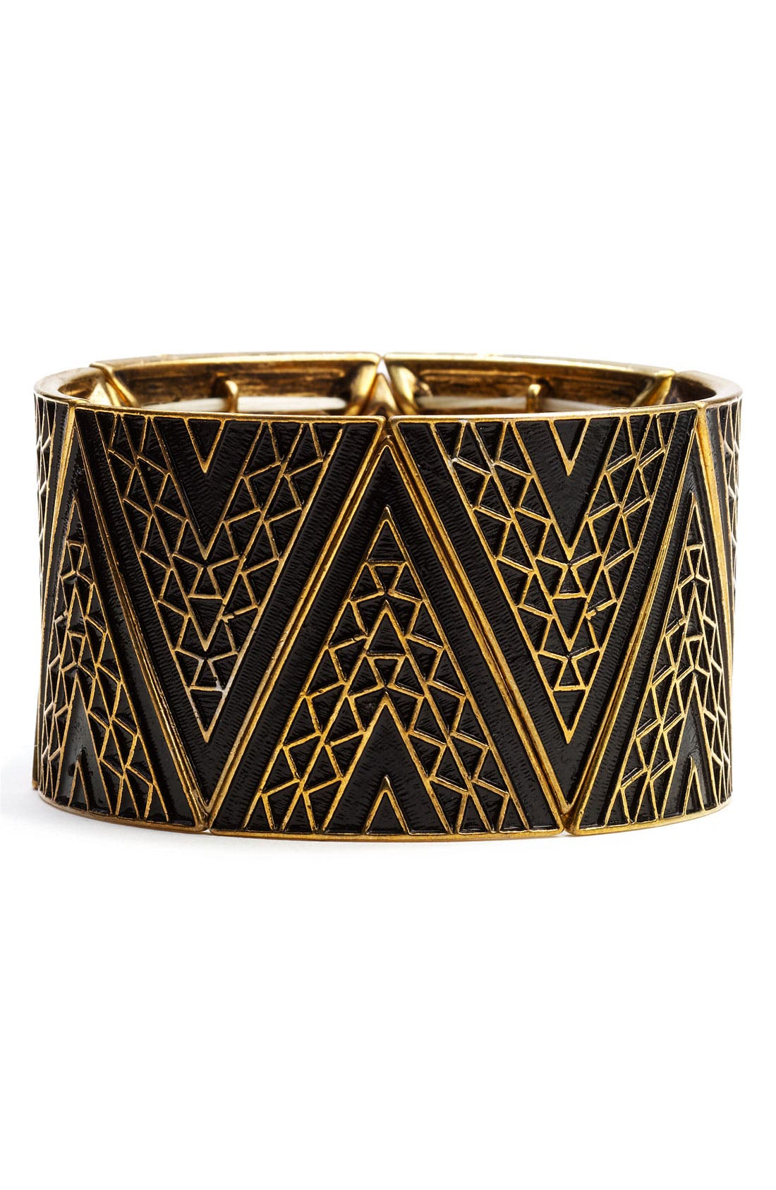 Alternate Image 1 Selected - Carole Stretch Triangle Cuff