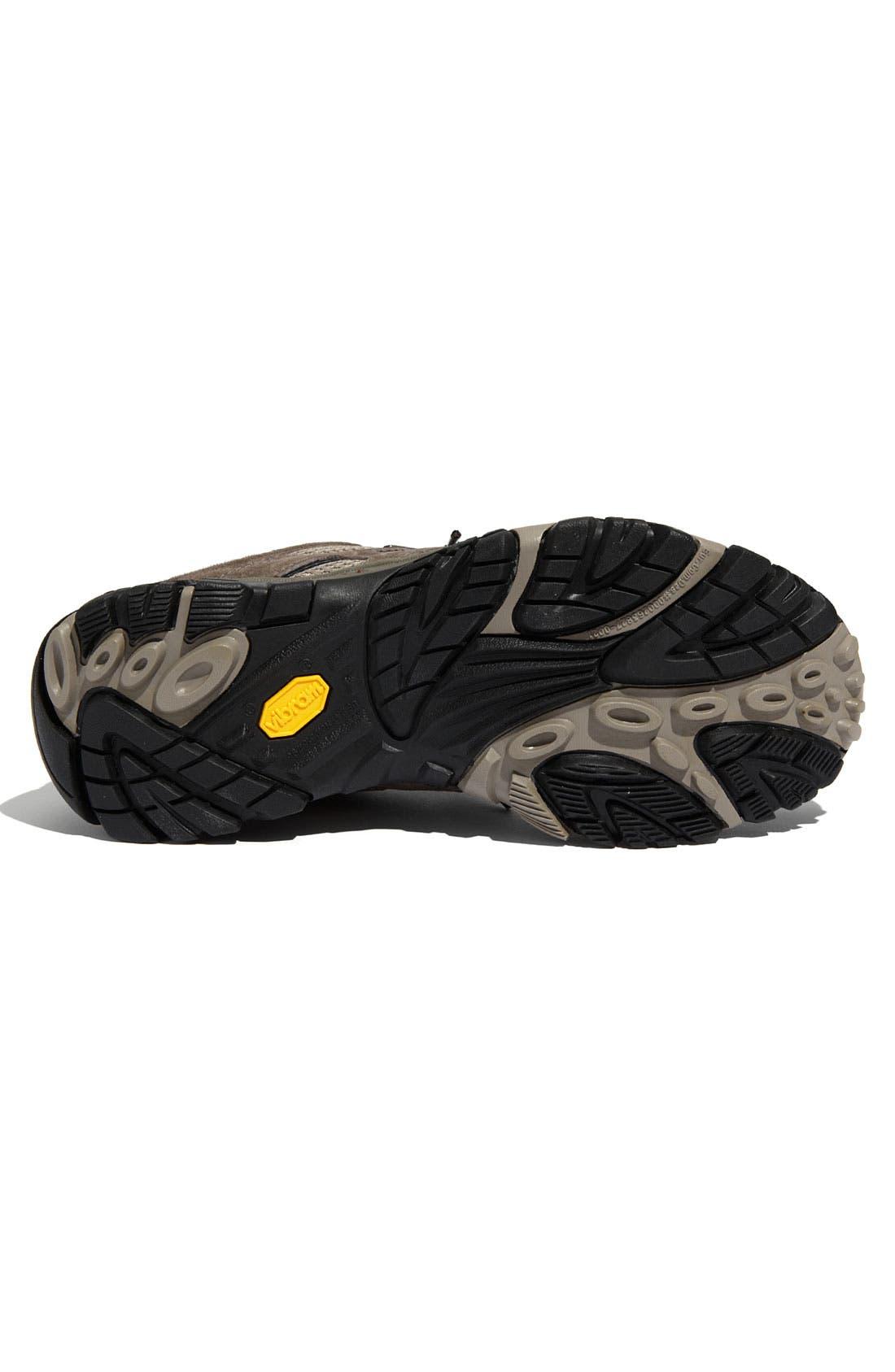 Alternate Image 4  - Merrell 'Moab' Waterproof Hiking Shoe (Men)