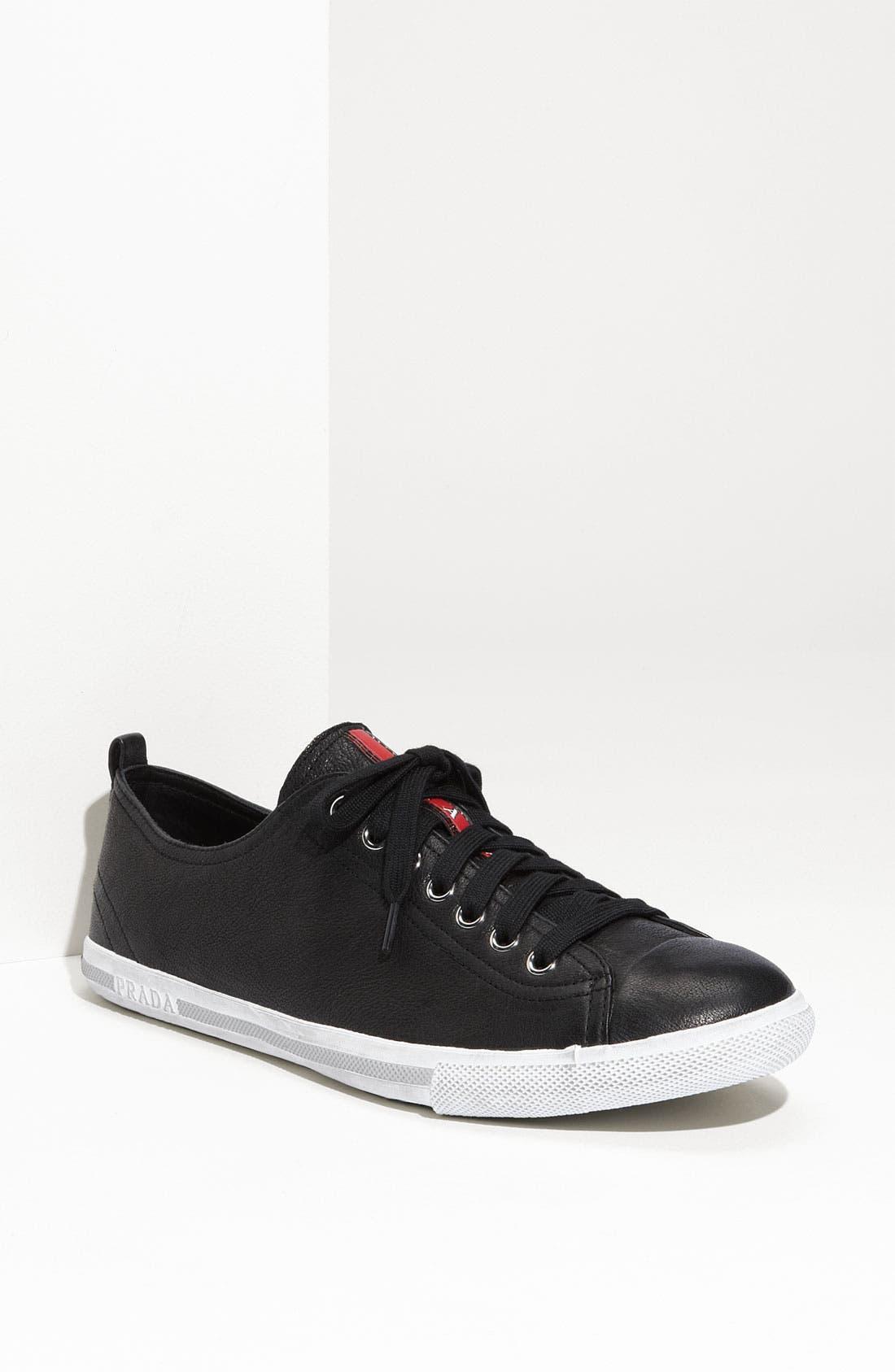 Alternate Image 1 Selected - Prada Low Profile Sneaker (Men)
