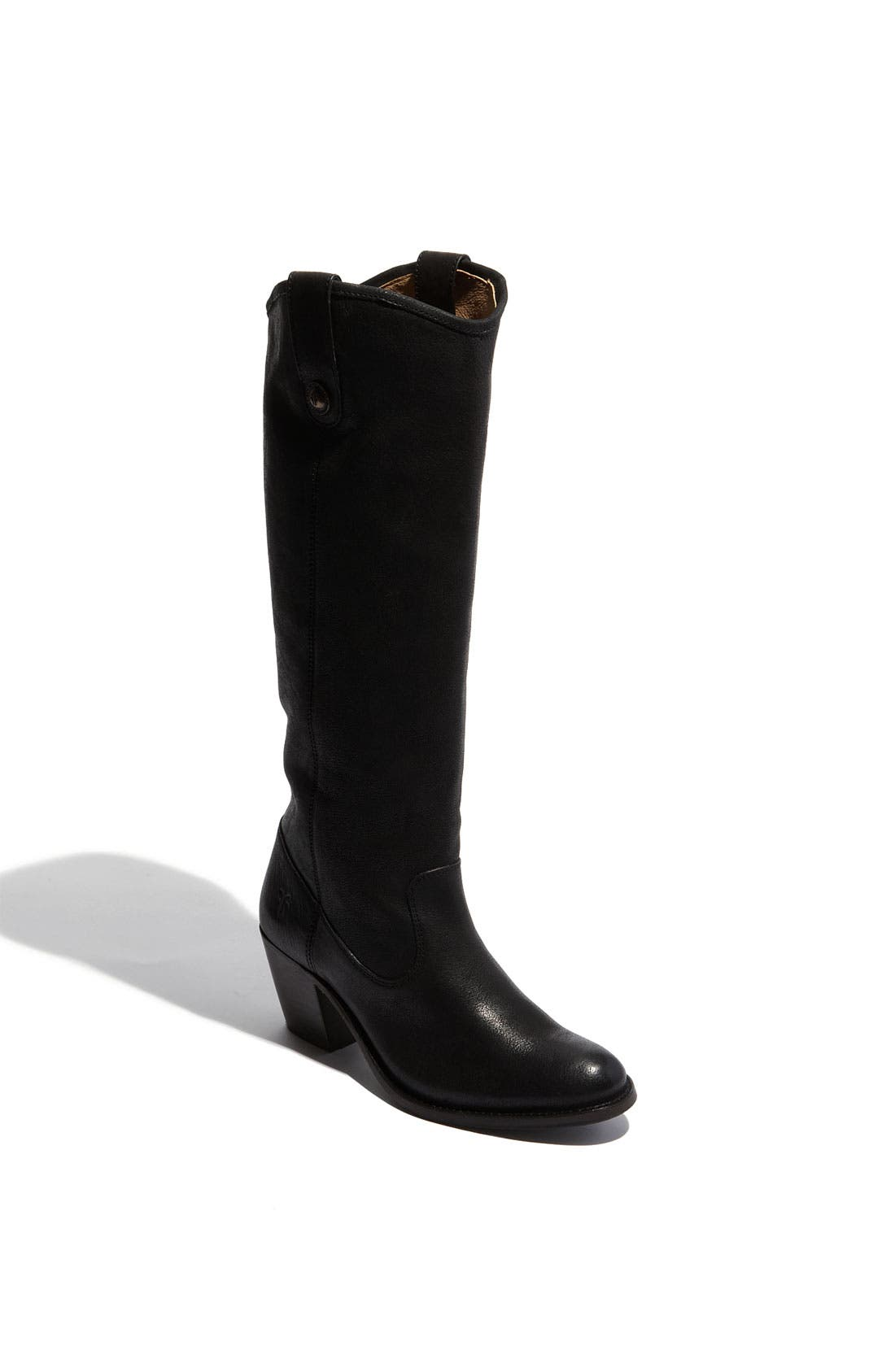 Main Image - Frye 'Jackie Button' Leather Riding Boot