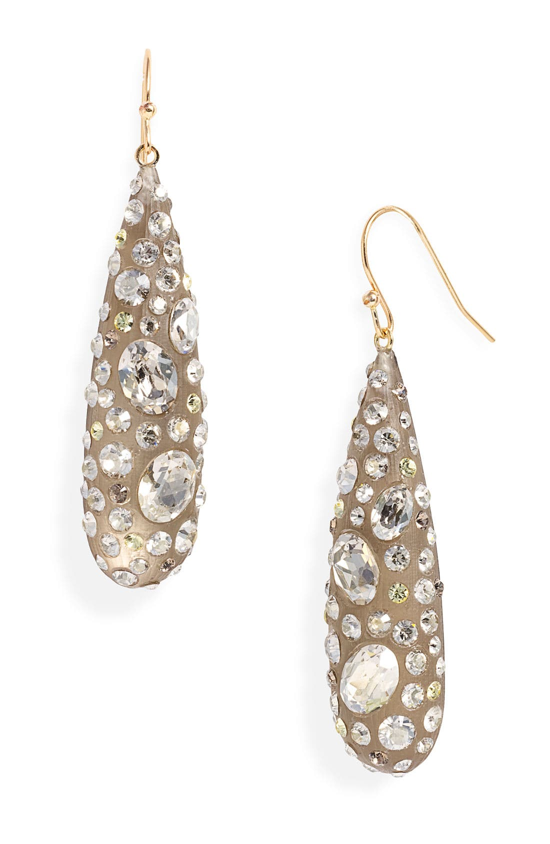 Alternate Image 1 Selected - Alexis Bittar 'Lucite® - Satin Dust' Teardrop Earrings
