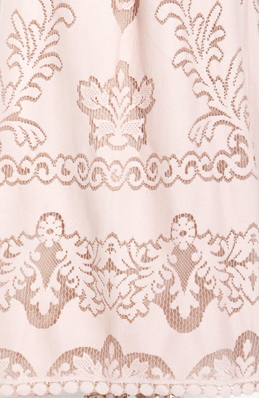Alternate Image 3  - Valentino Point de Flandres Lace Gown