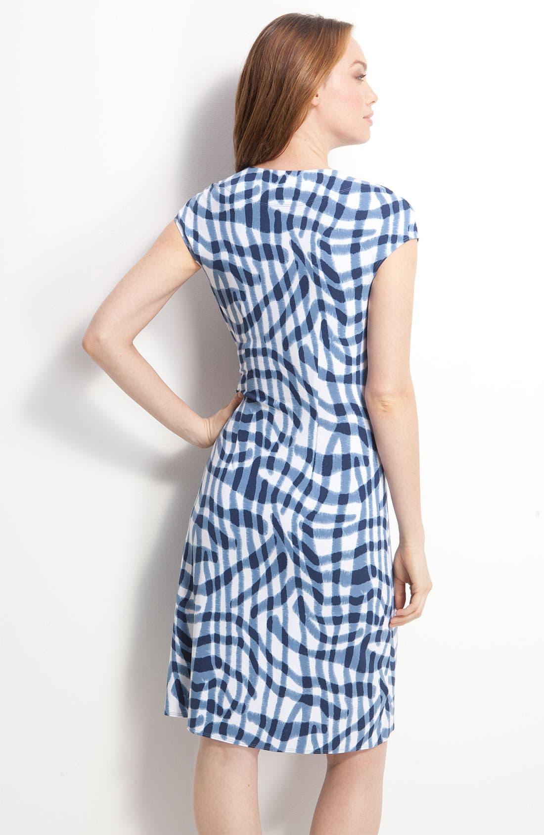 Alternate Image 2  - Tommy Bahama 'Zebra Plaid' Dress