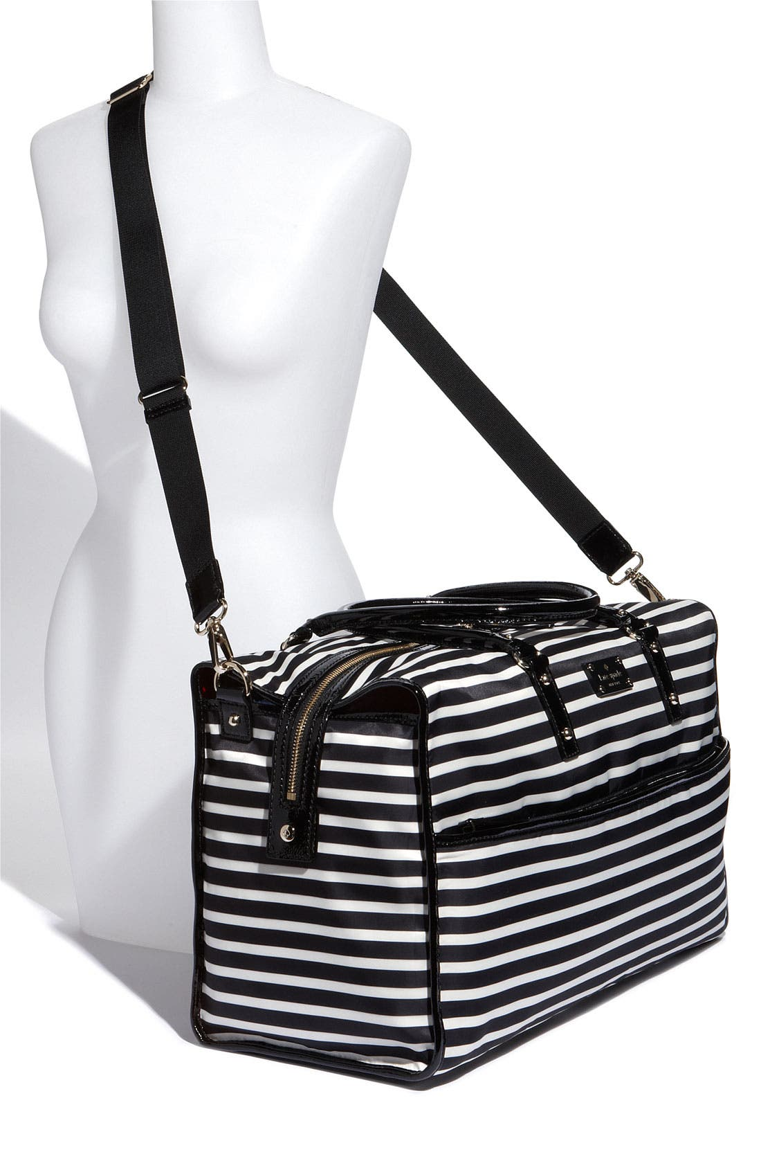Alternate Image 2  - kate spade new york 'adara' stripe nylon tote