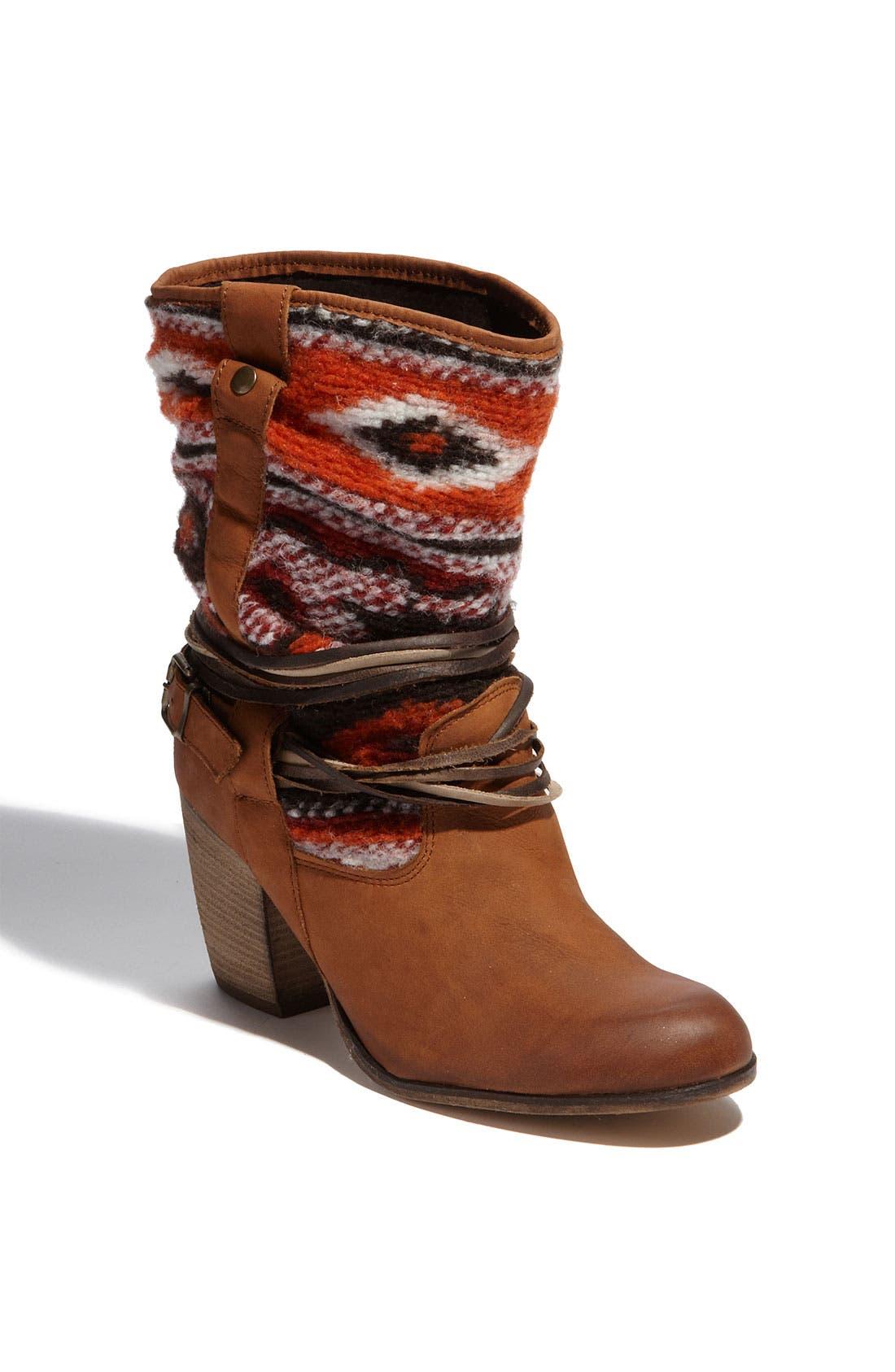 'Tolteca' Boot,                             Main thumbnail 1, color,                             Cognac Leather