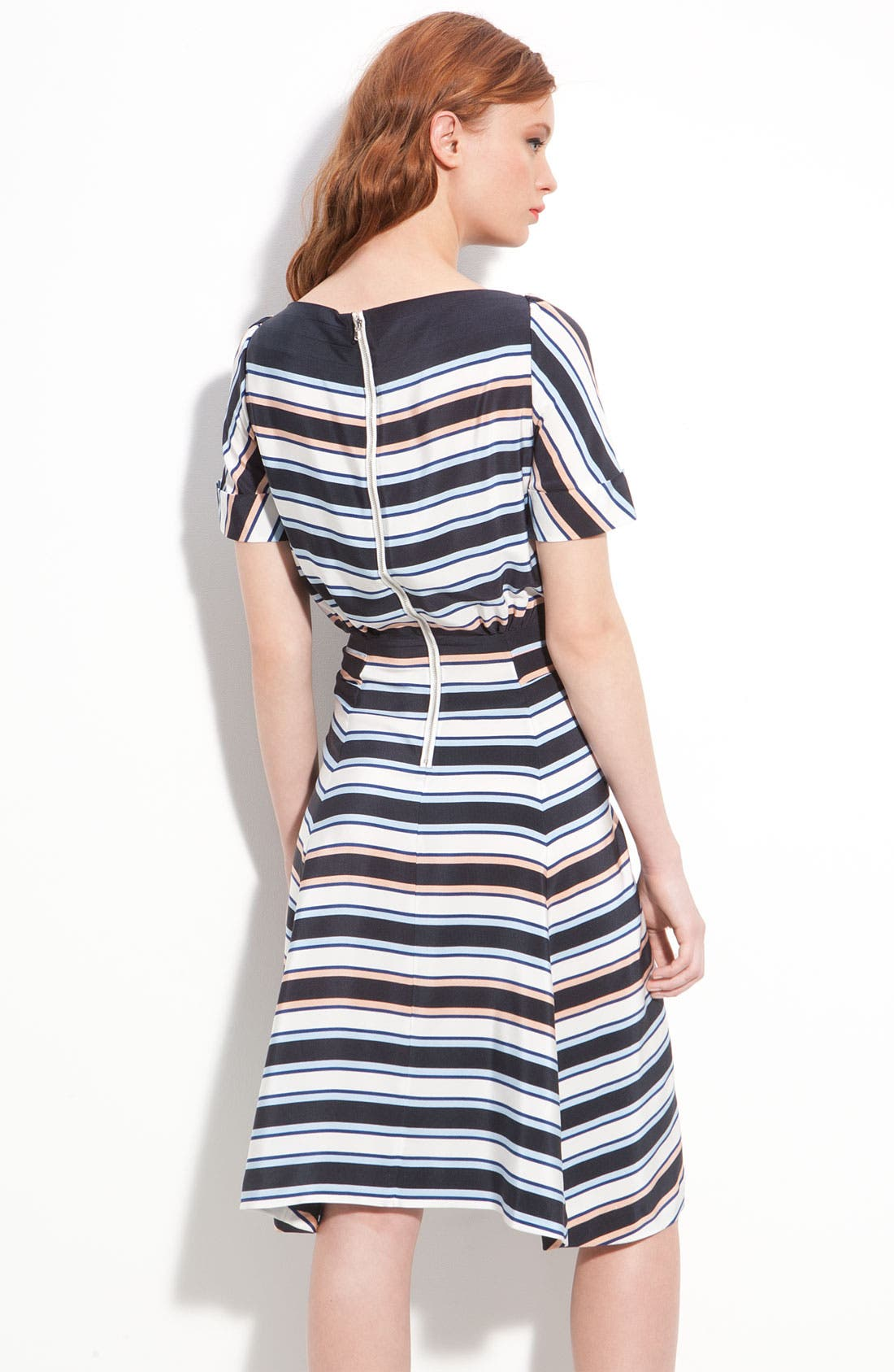 Alternate Image 2  - MARC BY MARC JACOBS 'Jacobson' Stripe Silk Dress