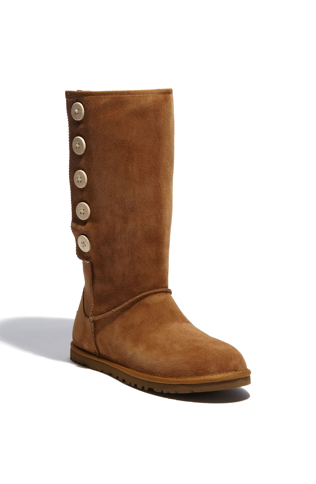 Alternate Image 1 Selected - UGG® Australia 'Lo Pro' Suede Boot (Women)