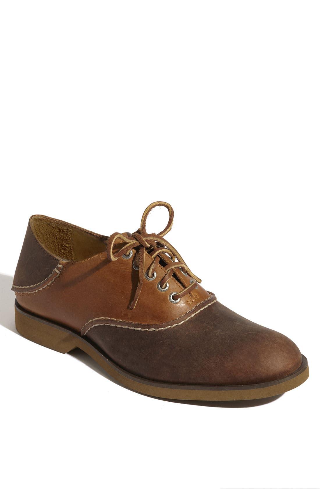 Alternate Image 1 Selected - Sperry Top-Sider® 'Boat' Oxford Saddle Shoe