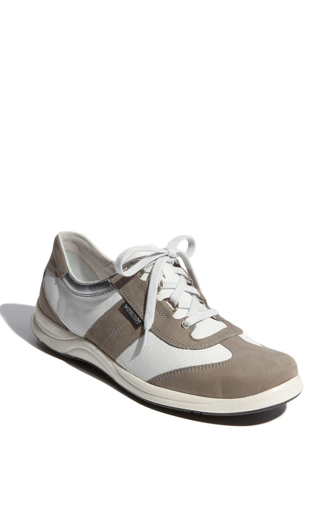 Alternate Image 1 Selected - Mephisto Laser Perforated Walking Shoe (Women)