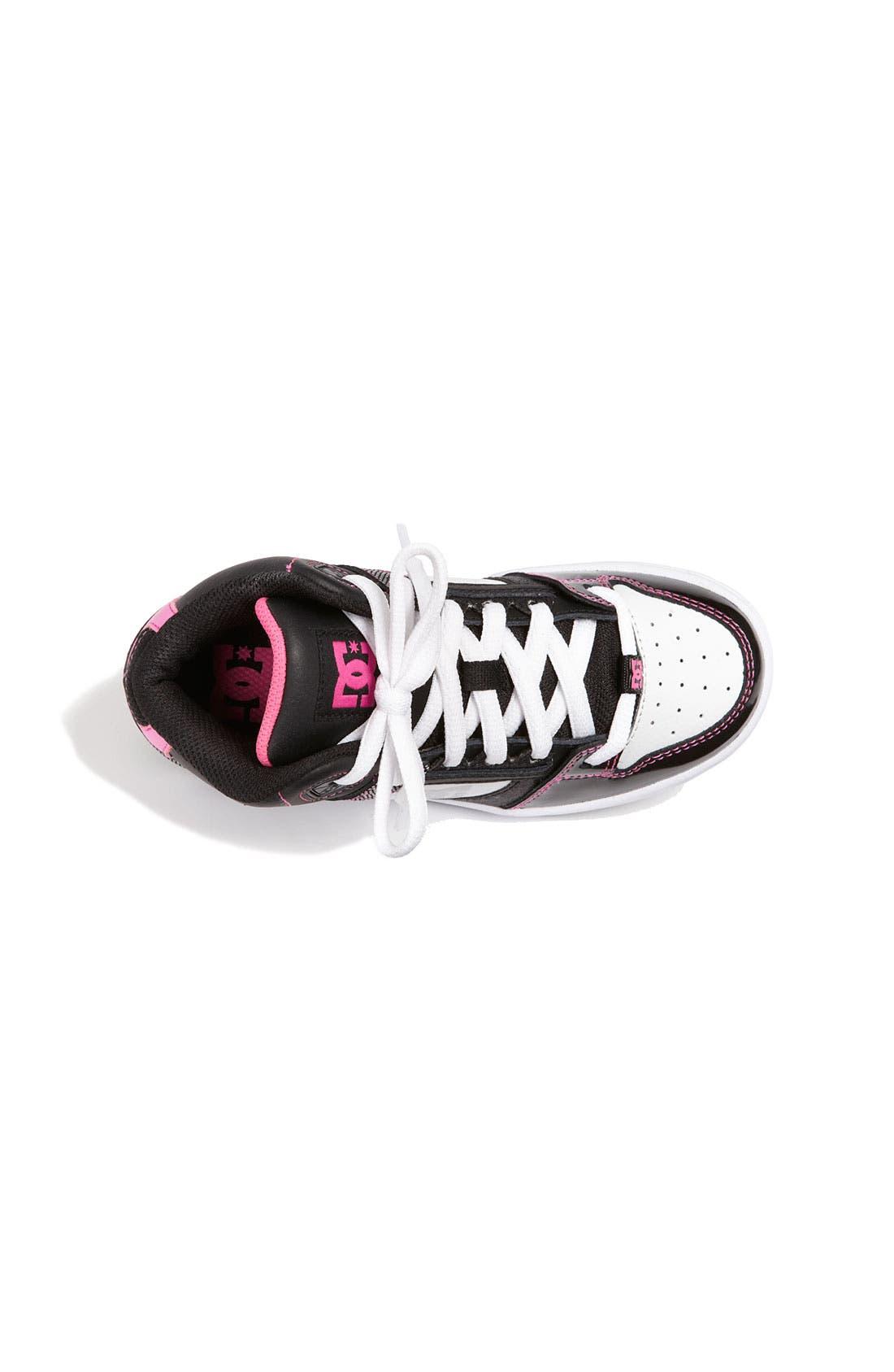 Alternate Image 3  - DC Shoes 'Rebound' Skate Shoe (Little Kid & Big Kid)