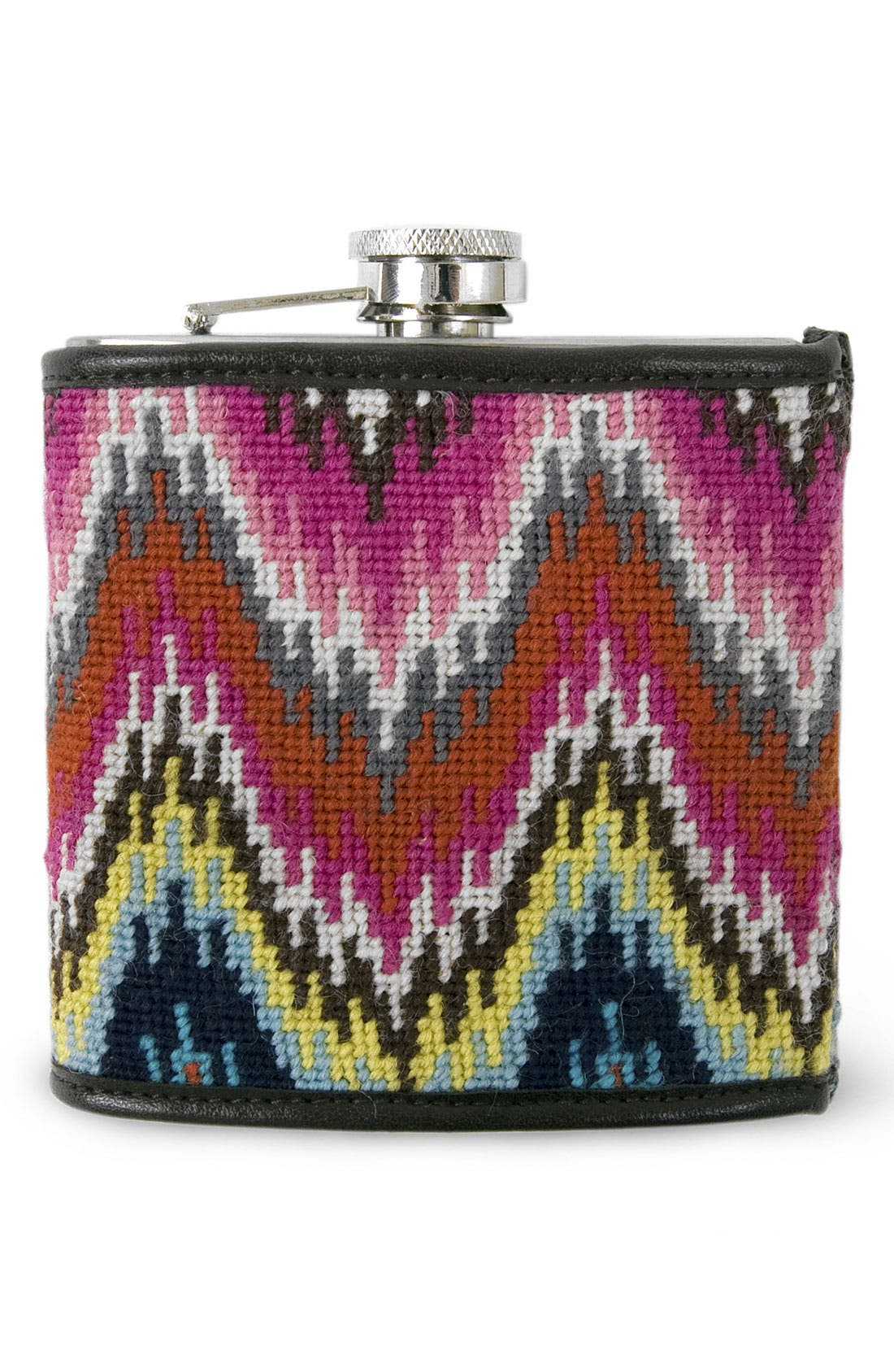 Alternate Image 1 Selected - Jonathan Adler Needlepoint Flask