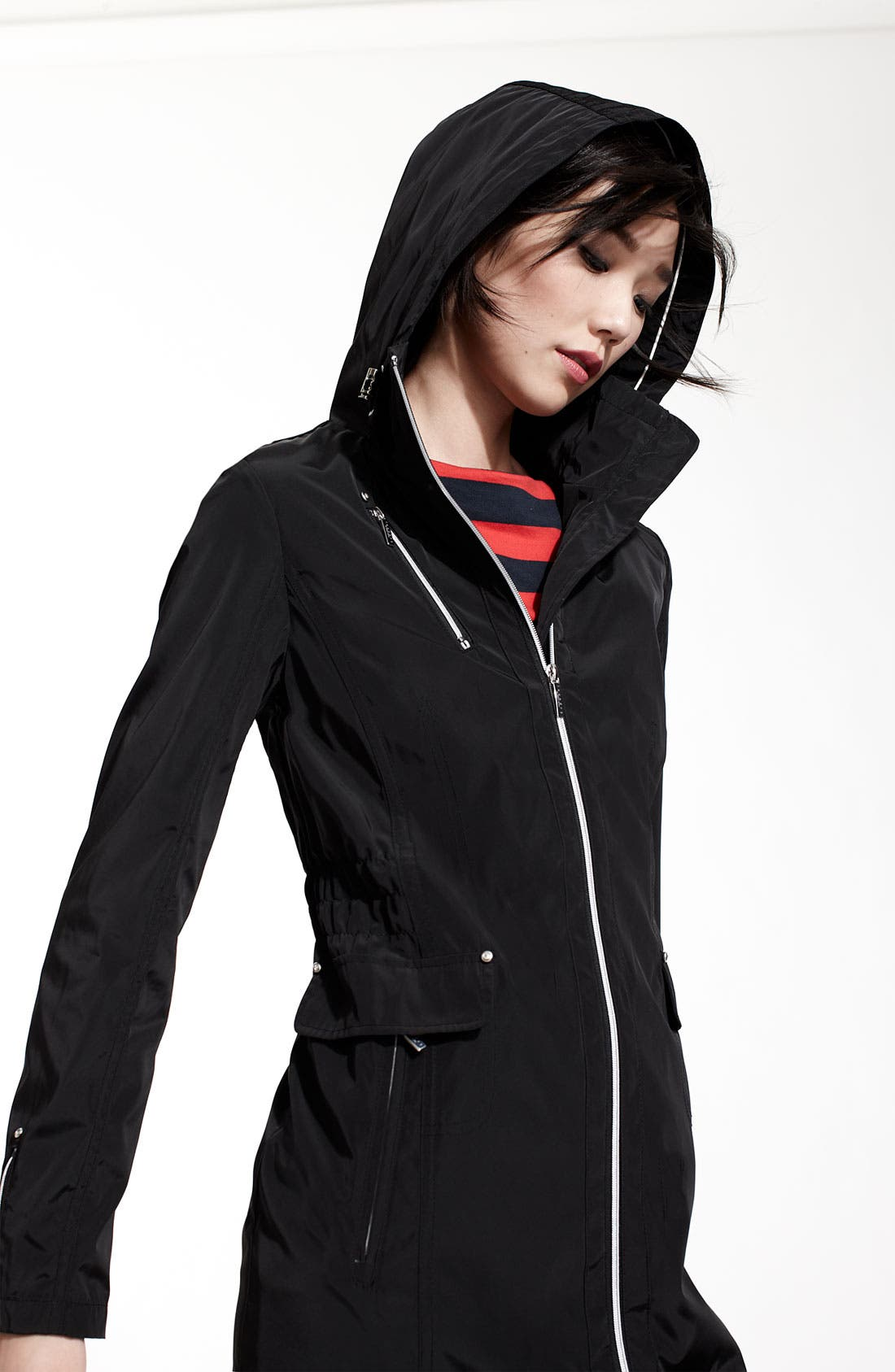 Alternate Image 5  - Laundry by Shelli Segal Hooded Anorak (Nordstrom Exclusive)