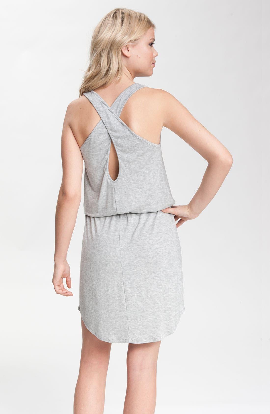 Alternate Image 2  - Caslon® Crisscross-Back Jersey Dress