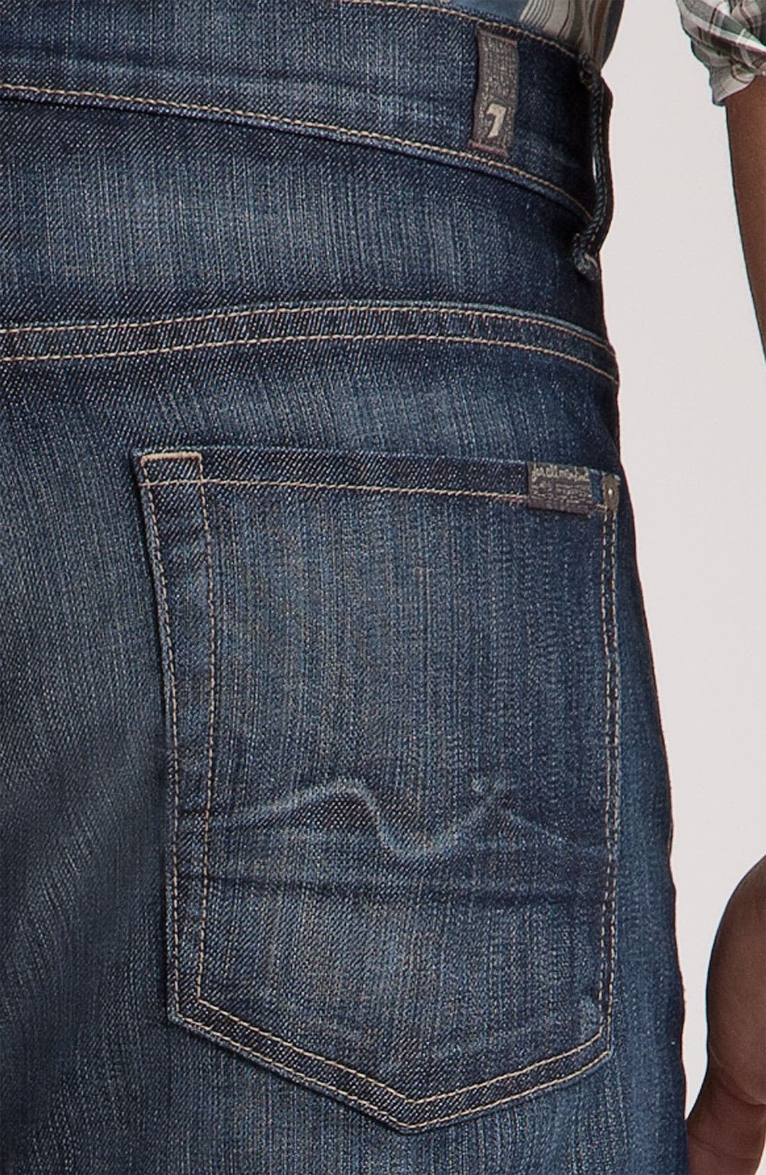 Alternate Image 2  - 7 For All Mankind® 'Austyn' Relaxed Straight Leg Jeans (Nite Shadow)