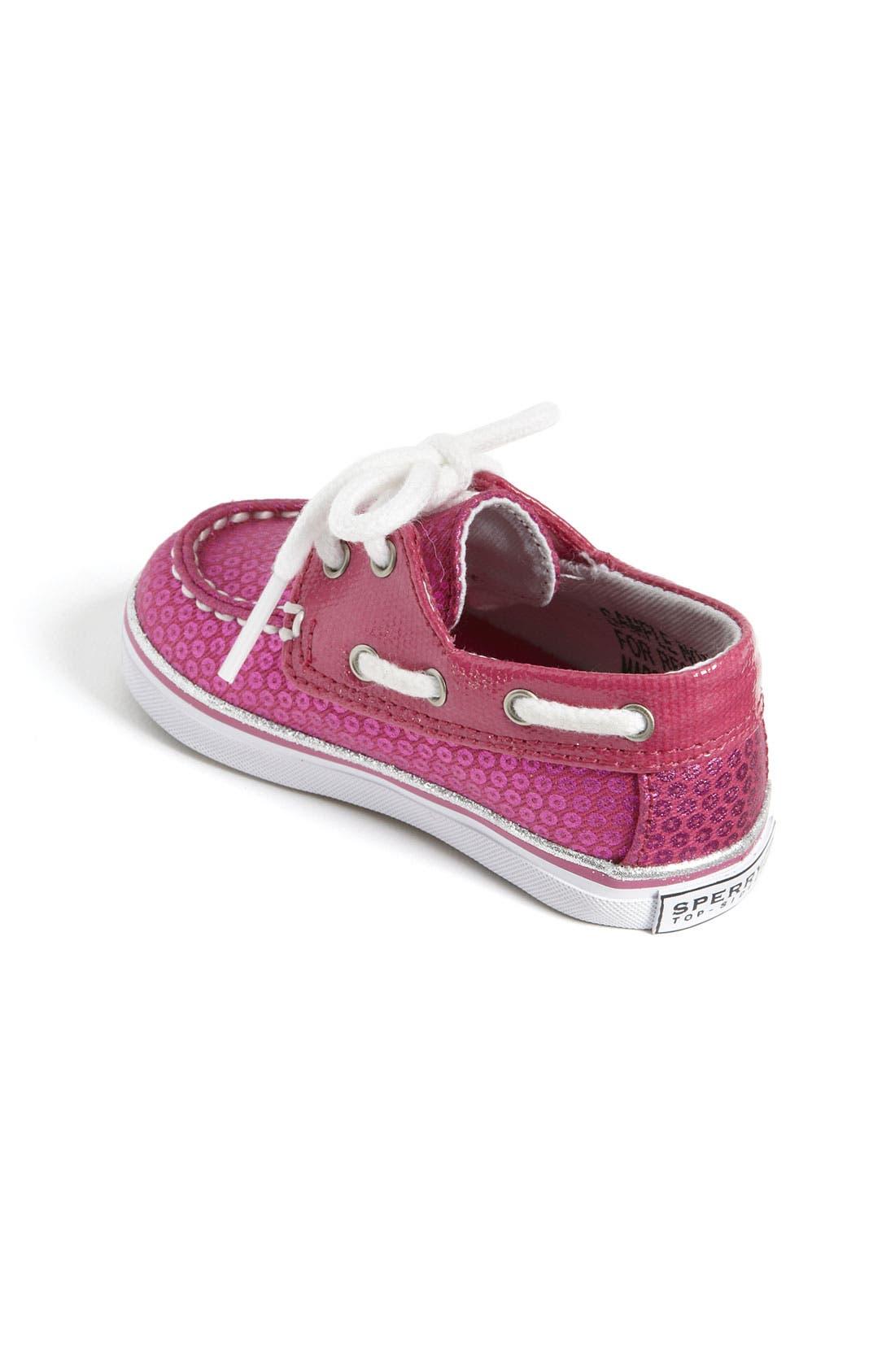 Alternate Image 2  - Sperry Top-Sider® 'Bahama' Crib Shoe (Baby)