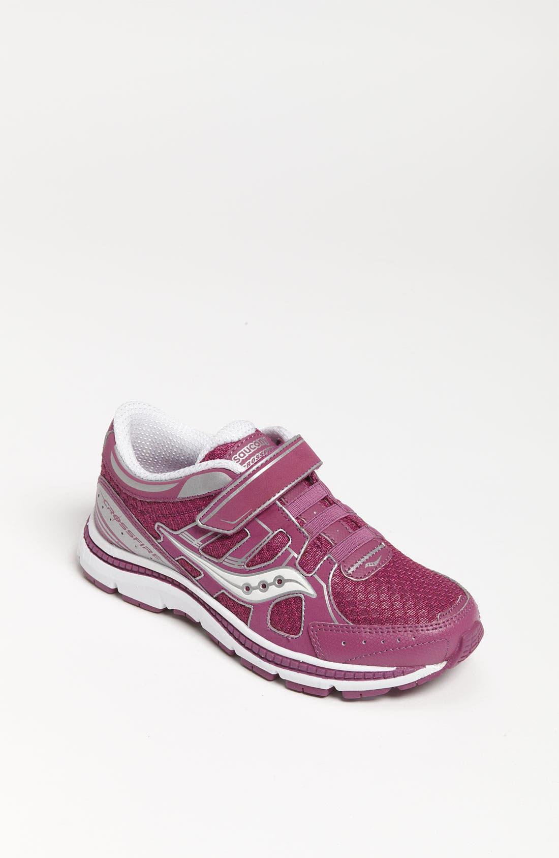 Alternate Image 1 Selected - Saucony 'Crossfire' Sneaker (Toddler, Little Kid & Big Kid)