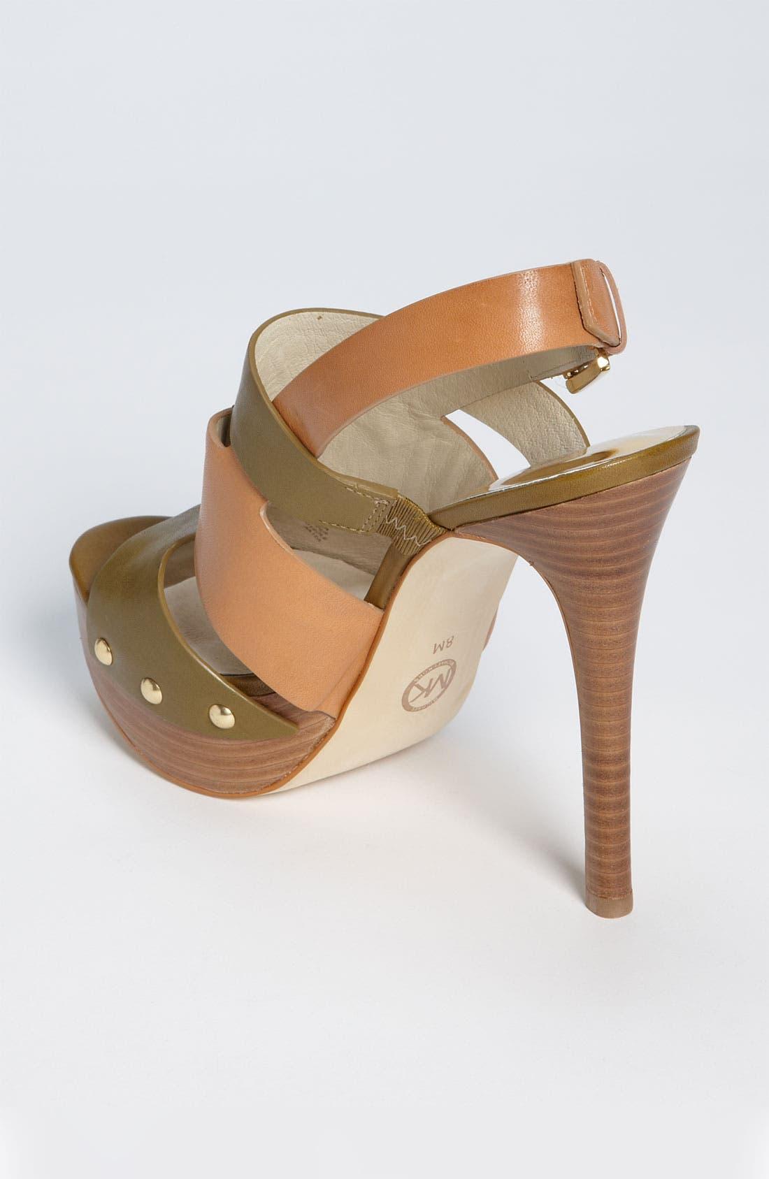 Alternate Image 2  - MICHAEL Michael Kors 'Seville' Platform Sandal