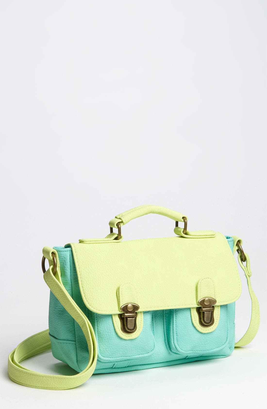 Main Image - Marais 'Colorblock Mini' Messenger Bag (Girls)
