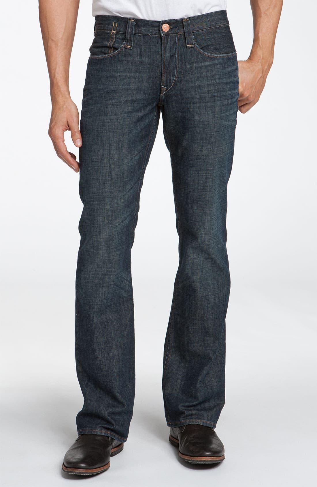 Alternate Image 2  - Earnest Sewn 'Hutch' Bootcut Jeans (Maz Dark)