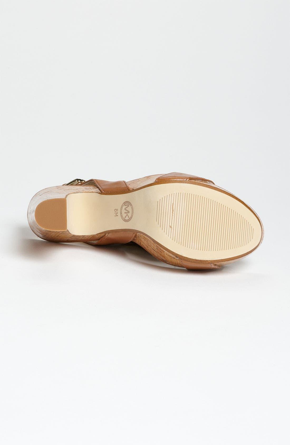 Alternate Image 4  - MICHAEL Michael Kors 'Ivana' Sandal