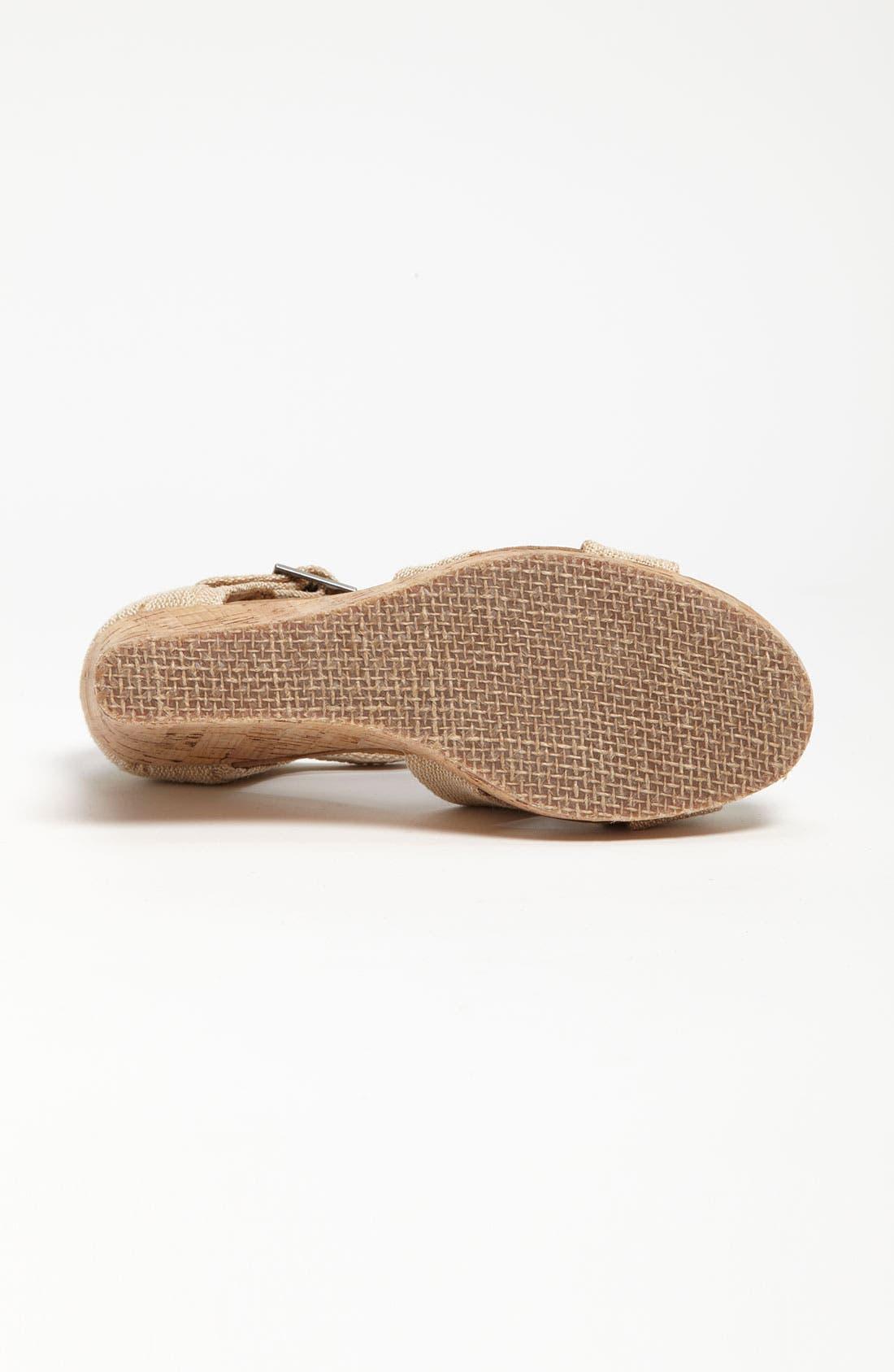 Alternate Image 4  - TOMS 'Sierra' Wedge Sandal