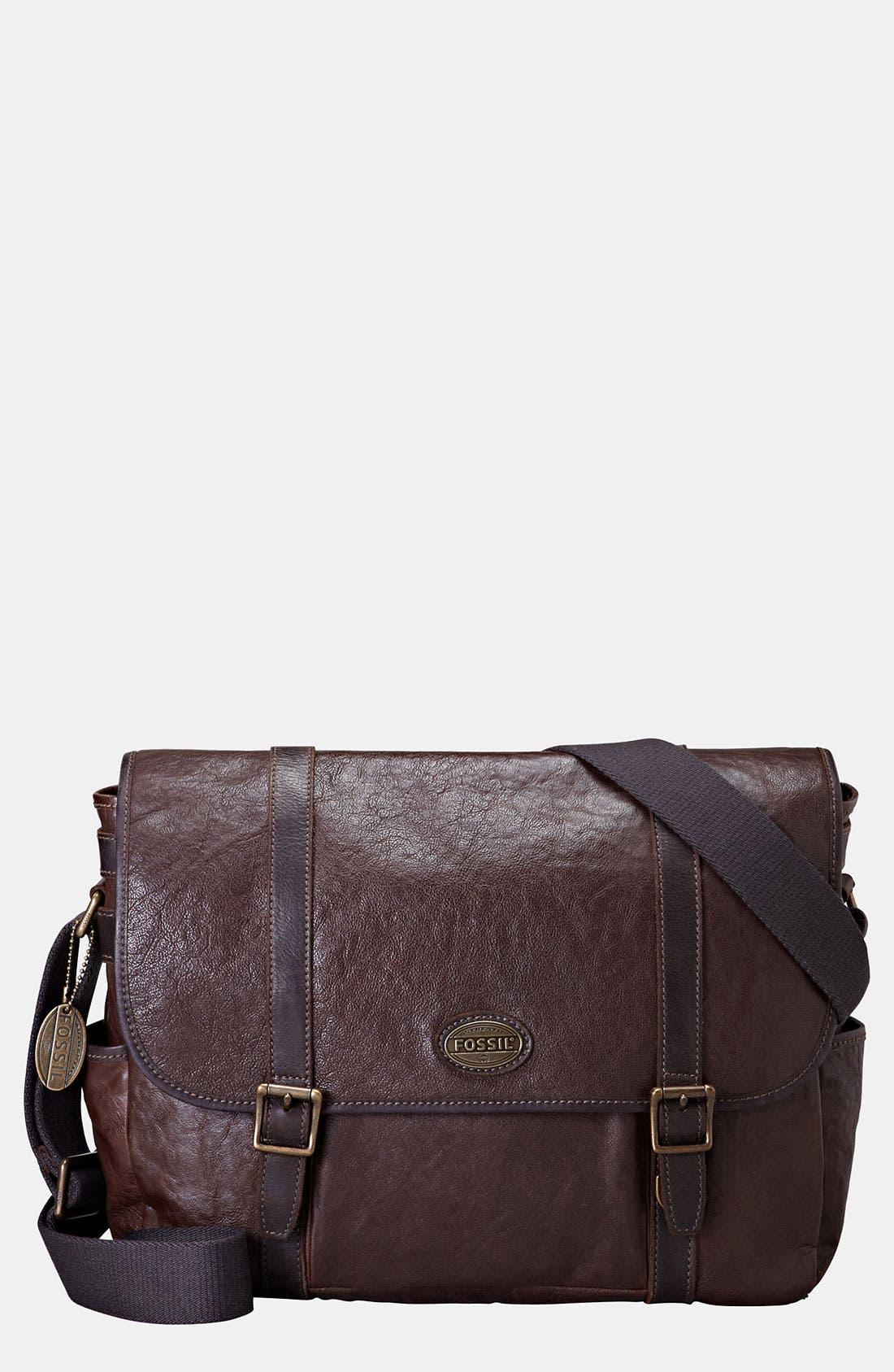 Main Image - Fossil 'Estate' Messenger Bag